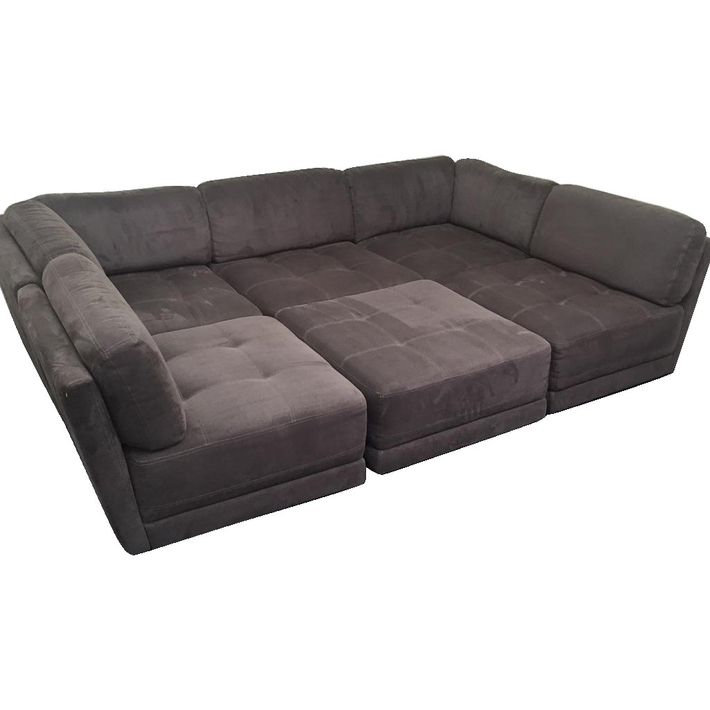 6 Piece Modular Sectional Costco   Implantologiabogota.co Throughout Marcus Grey 6 Piece Sectionals With  Power Headrest & Usb (Photo 5 of 30)