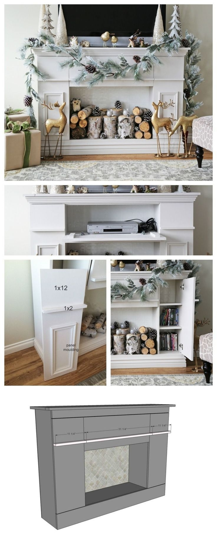 9 Best Fireplace Images On Pinterest | Fire Places, Living Room And inside Marbled Axton Sideboards (Image 6 of 26)