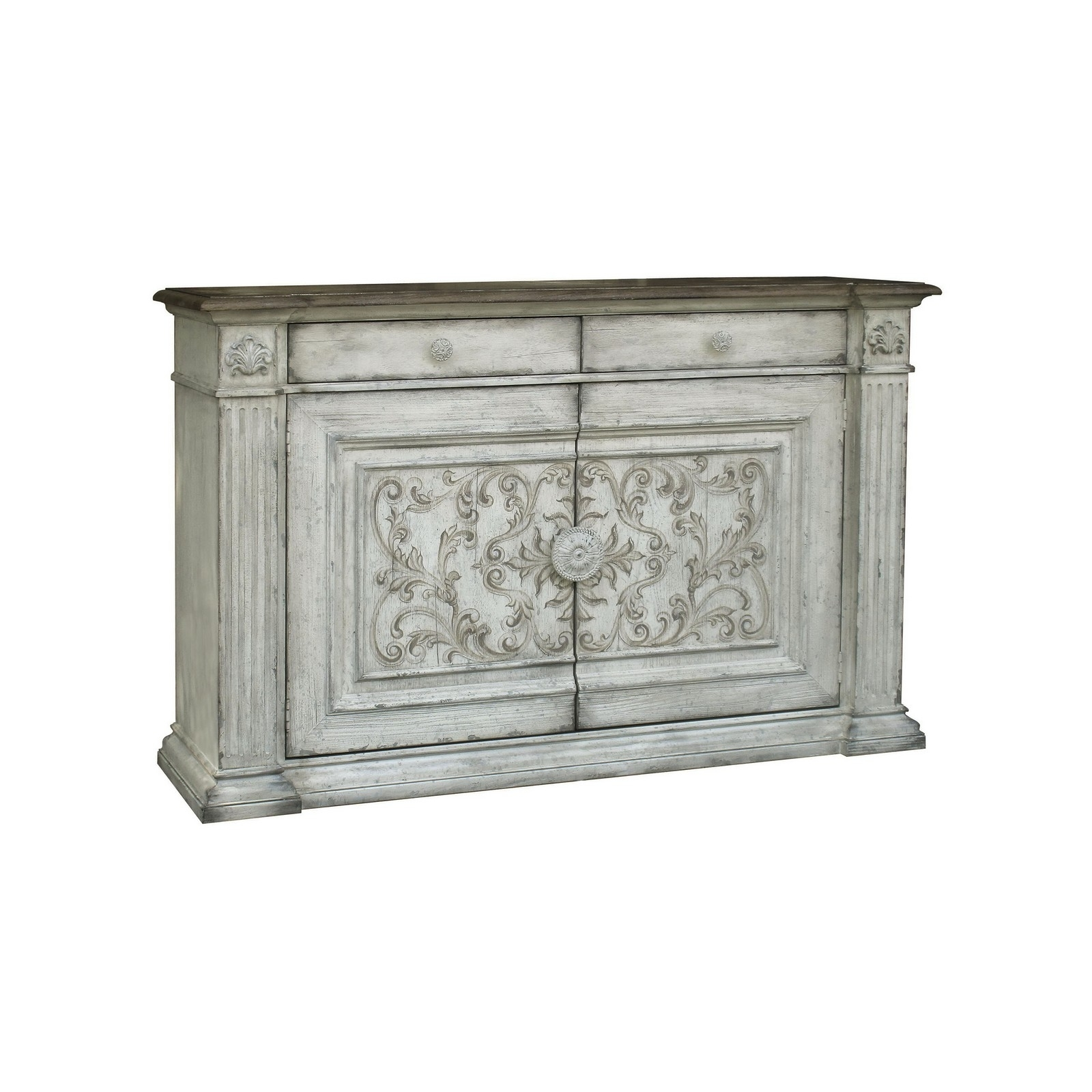 Accentrics Home Serendipity Console Painted - Homelegance Furniture intended for Jaxon Grey Sideboards (Image 1 of 30)