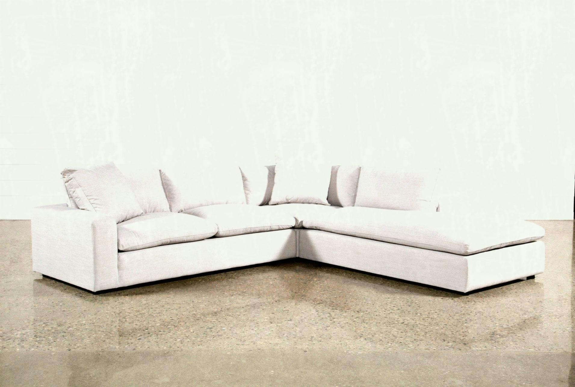 Added To Cart Aquarius Light Grey Piece Sectional W Raf Chaise throughout Aquarius Light Grey 2 Piece Sectionals With Raf Chaise (Image 5 of 30)