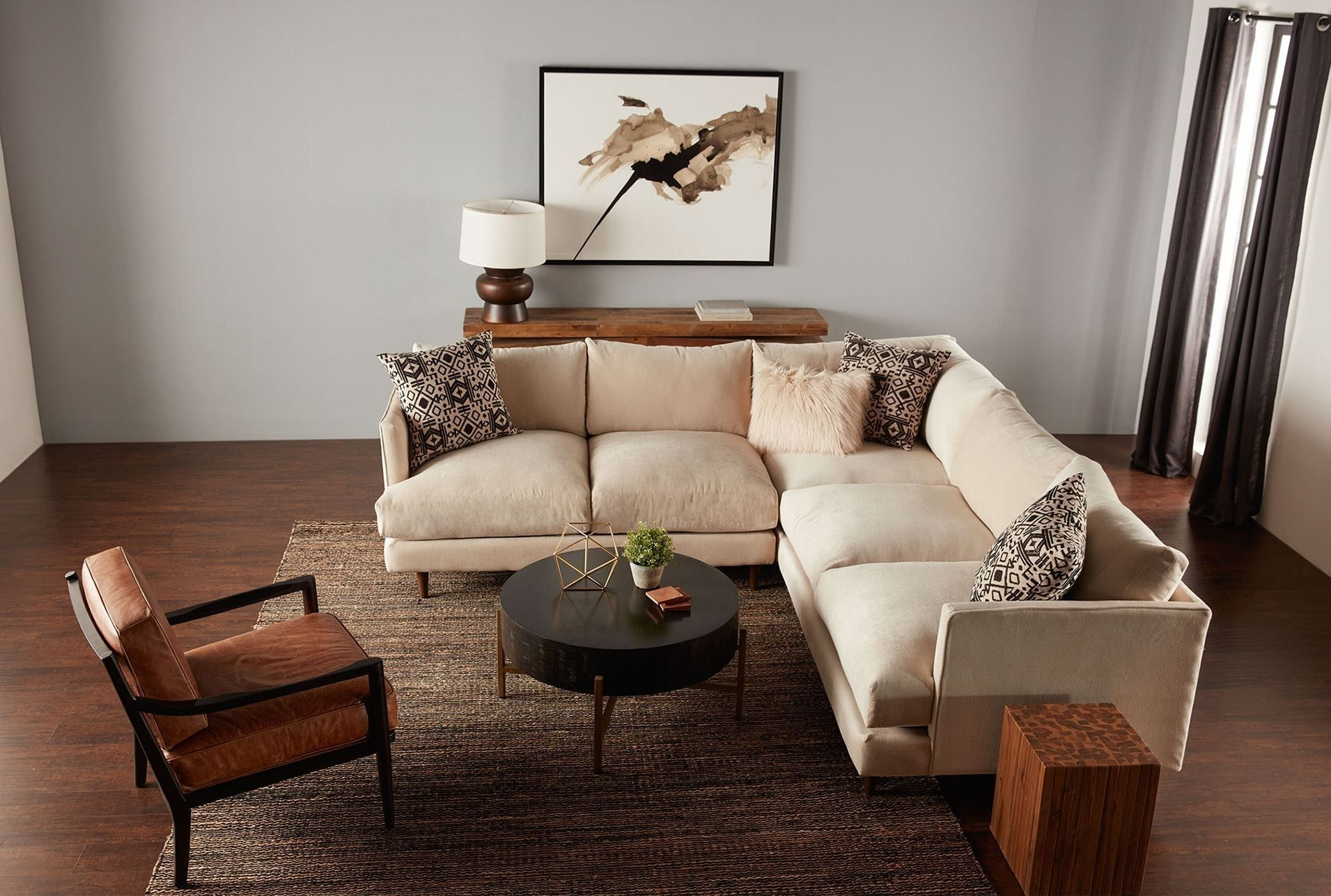Adeline 3 Piece Sectional | Living Room Redesign | Pinterest with regard to Adeline 3 Piece Sectionals (Image 3 of 30)
