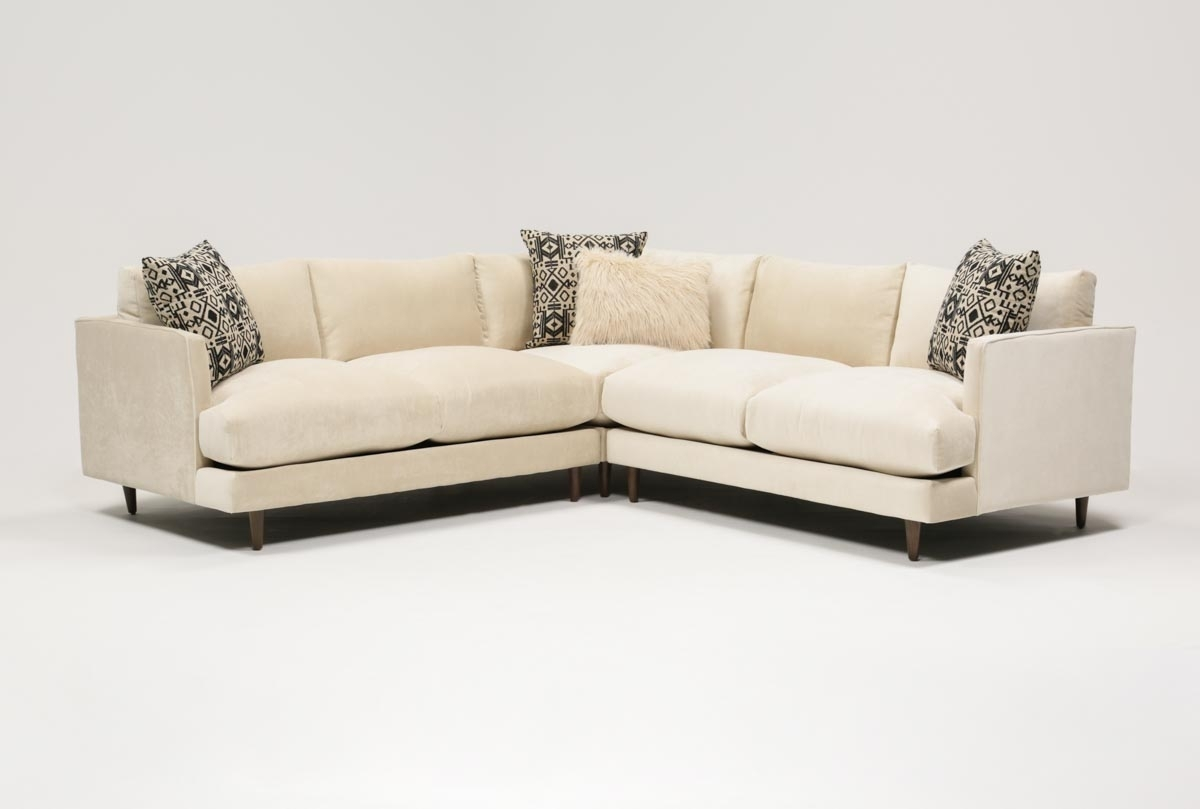 Adeline 3 Piece Sectional | Living Spaces pertaining to Soane 3 Piece Sectionals by Nate Berkus and Jeremiah Brent (Image 1 of 30)