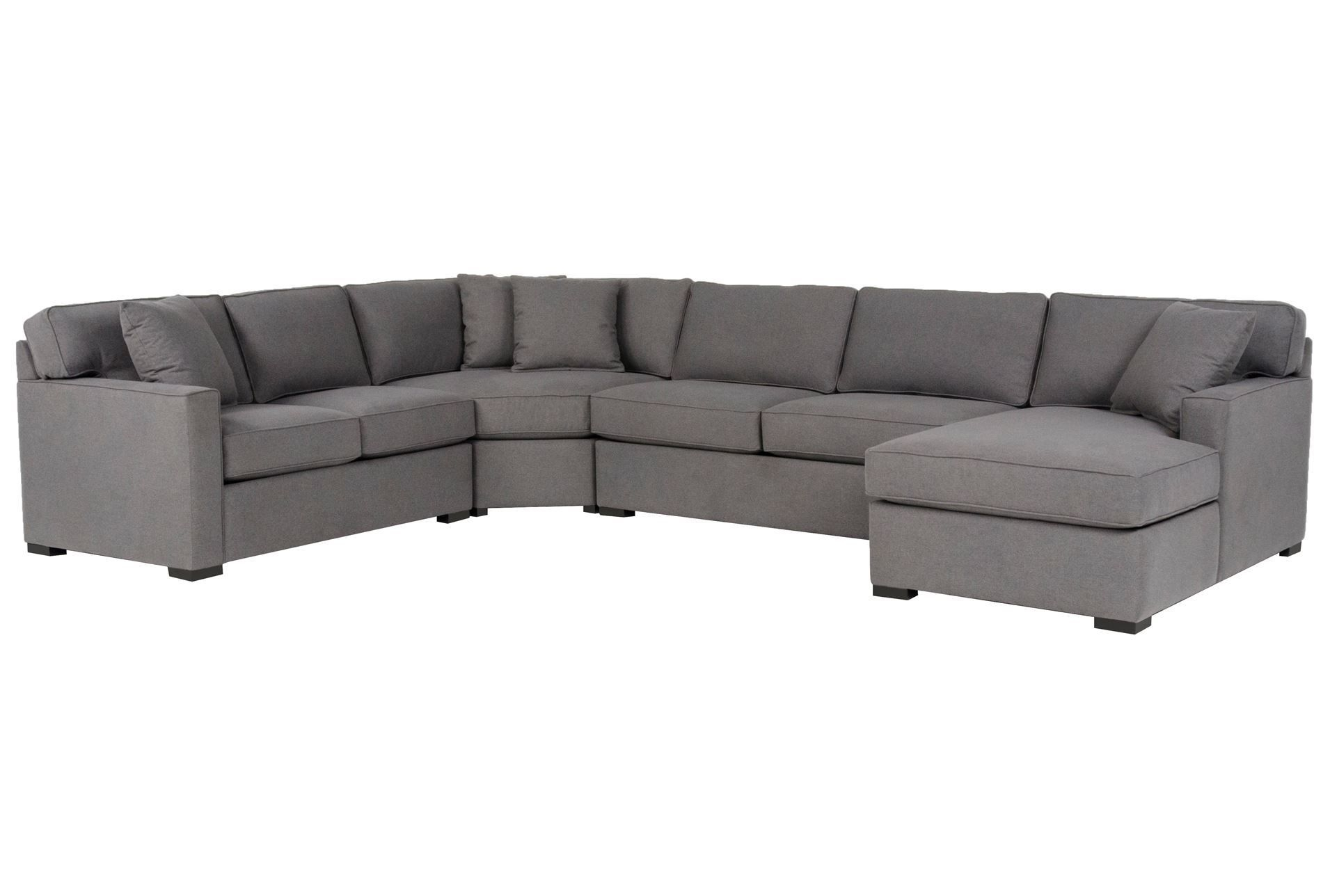 Alder 4 Piece Sectional | Dream Home - Sit Down | Pinterest | Living with Turdur 2 Piece Sectionals With Laf Loveseat (Image 1 of 30)