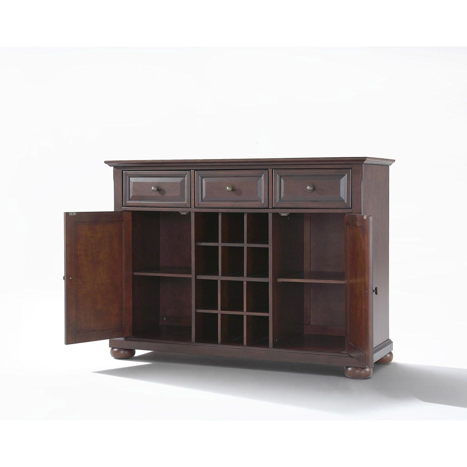 Alexandria Buffet Server / Sideboard, Mahogany *d | Kf42001Ama pertaining to Amos Buffet Sideboards (Image 5 of 30)