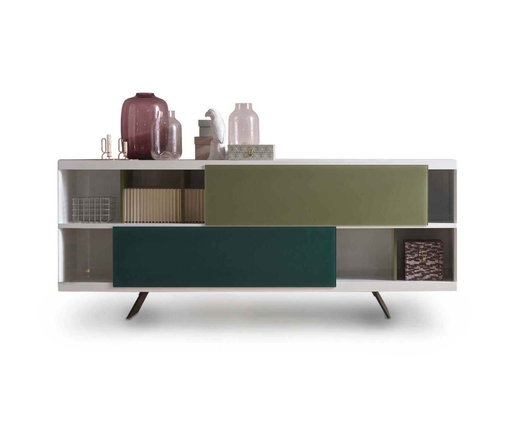 Aliante | Sideboard - Sideboards From Estel Group | Architonic for Open Shelf Brass 4-Drawer Sideboards (Image 1 of 30)