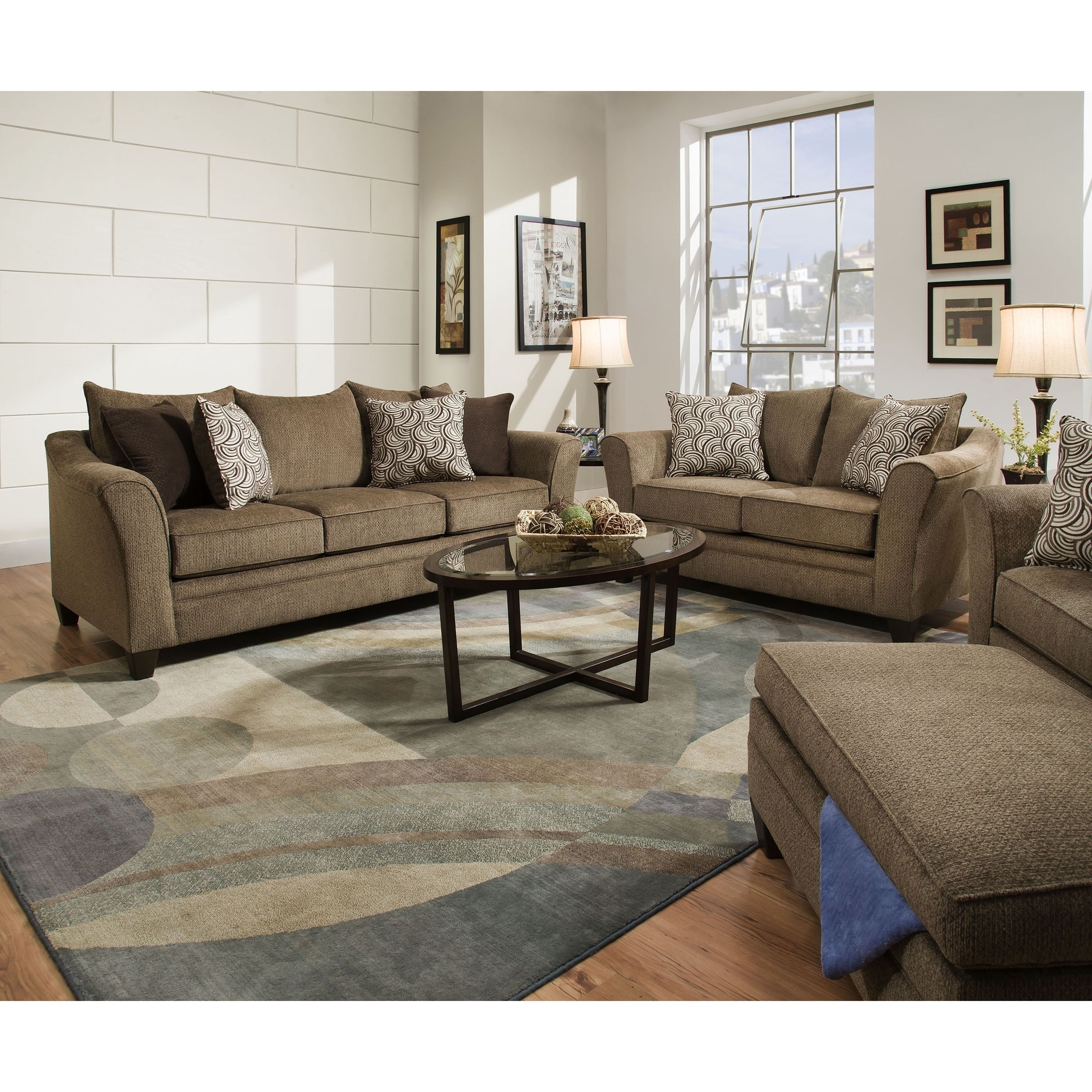 "Alvarez Natural Wool-Blend 12""x18"" Rug Swatch for Adeline 3 Piece Sectionals (Image 6 of 30)"