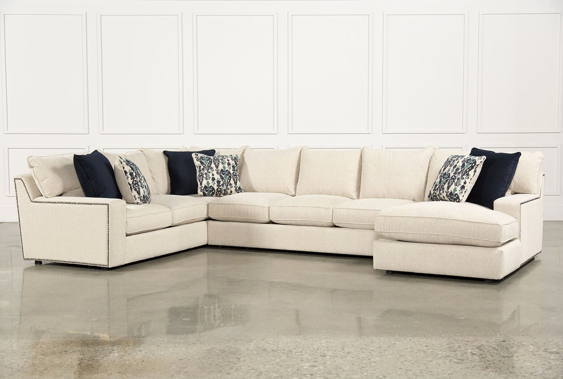 Amazing 3 Piece Sectional Sofa Images Rennell 3 Piece Sectional W with Harper Down 3 Piece Sectionals (Image 3 of 30)