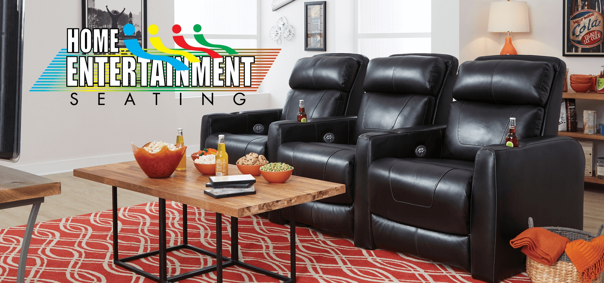 American-Made Motion Furniture & Reclining Living Room Sets in Travis Cognac Leather 6 Piece Power Reclining Sectionals With Power Headrest & Usb (Image 2 of 30)
