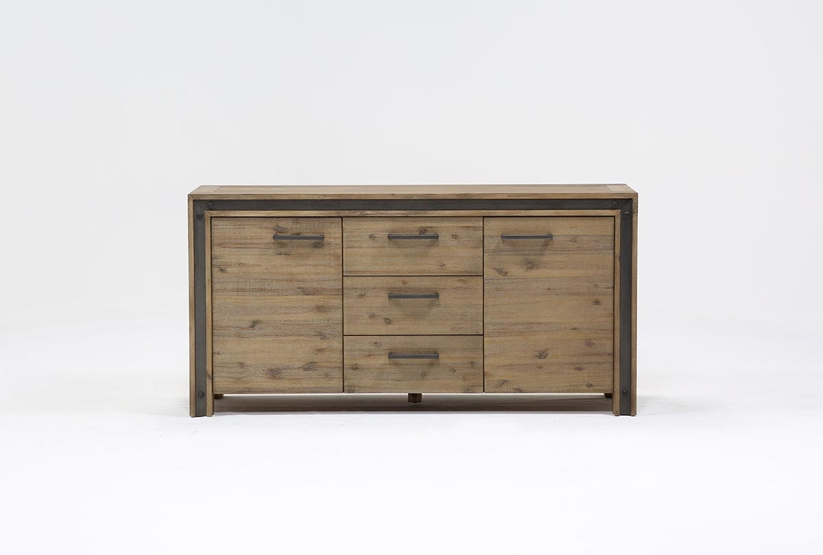 Amos Buffet | Living Spaces within Amos Buffet Sideboards (Image 6 of 30)