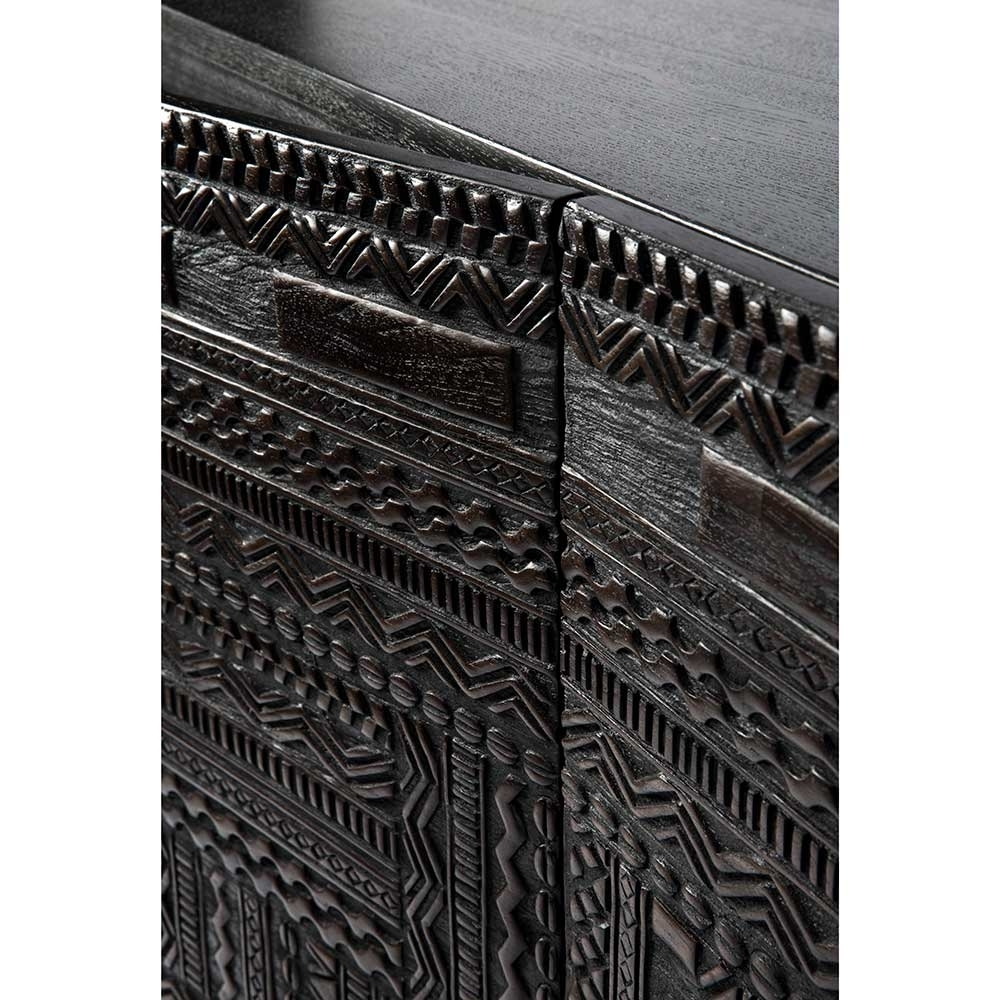Ancestors Tabwa Sideboard – 4 Doors – Rouse Home in Carved 4 Door Metal Frame Sideboards (Image 8 of 30)