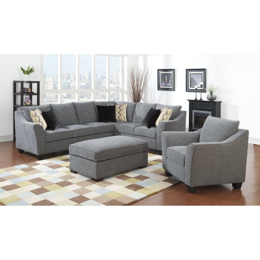Anselme Sectional | Pinterest | Living Room Sets, Room Set And with Blaine 3 Piece Sectionals (Image 3 of 30)