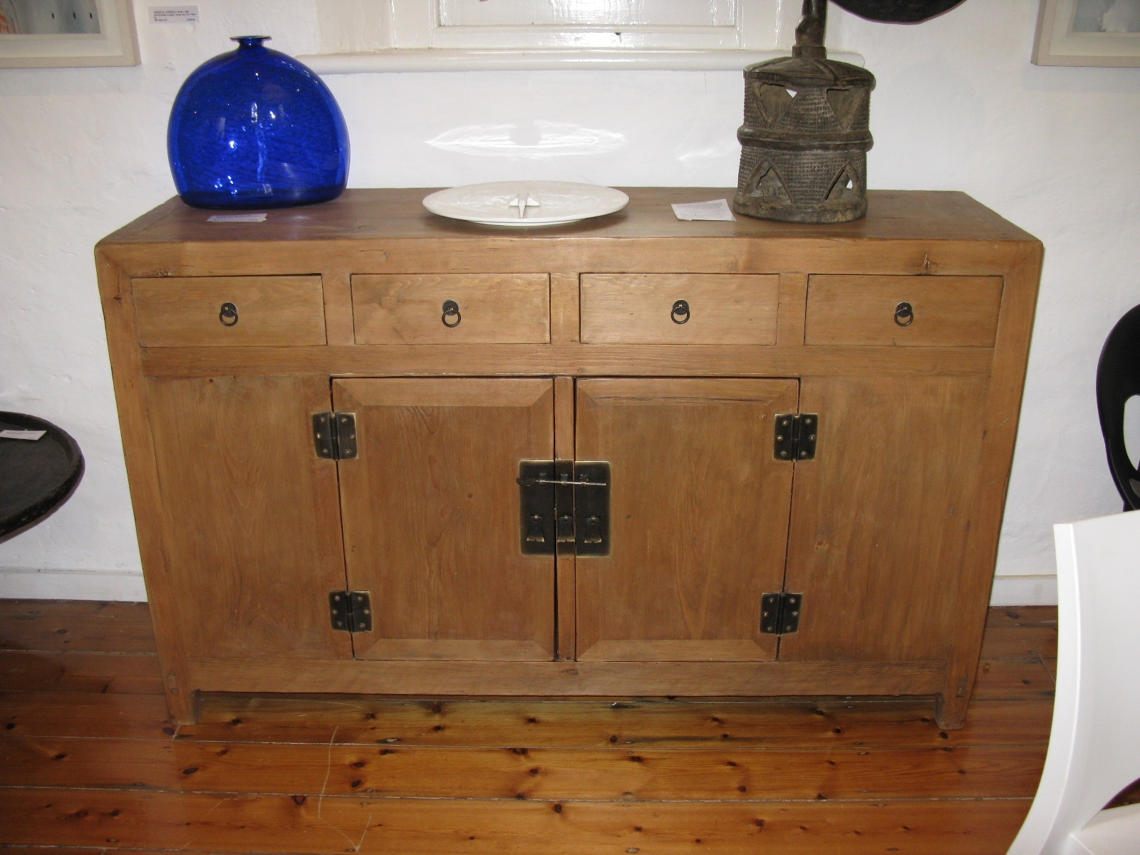 Antique Sideboards | Gallery Categories | Aptos Cruz with Antique Walnut Finish 2-Door/4-Drawer Sideboards (Image 3 of 30)