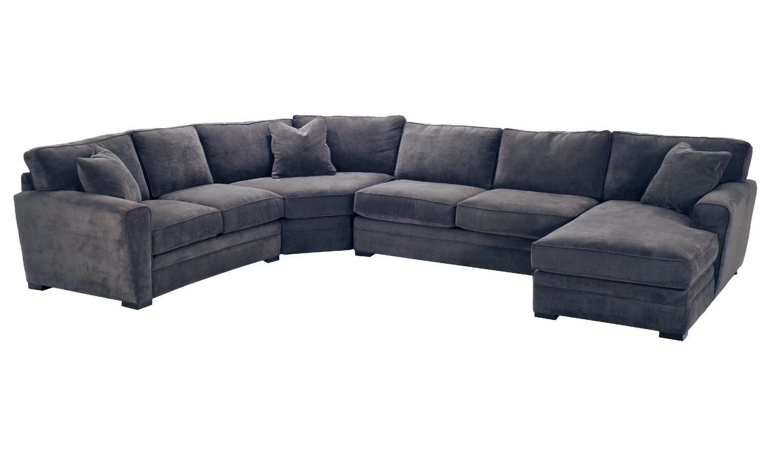 Artemis 4 Piece Sectional | Hom Furniture with Blaine 3 Piece Sectionals (Image 4 of 30)