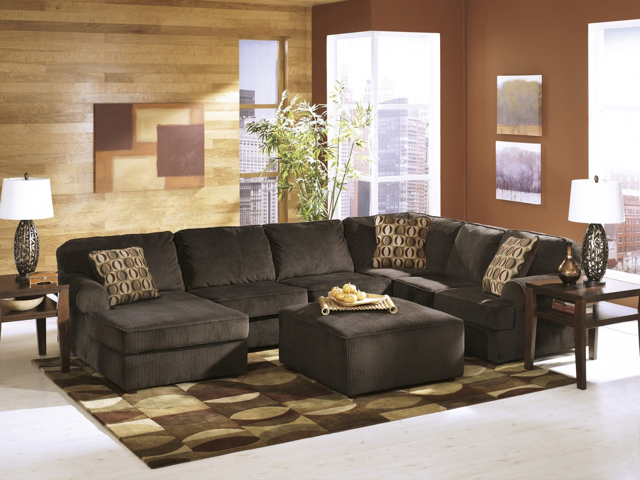Ashley 684 Vista Sectional | Best Furniture Mentor Oh: Furniture pertaining to Cosmos Grey 2 Piece Sectionals With Raf Chaise (Image 2 of 30)