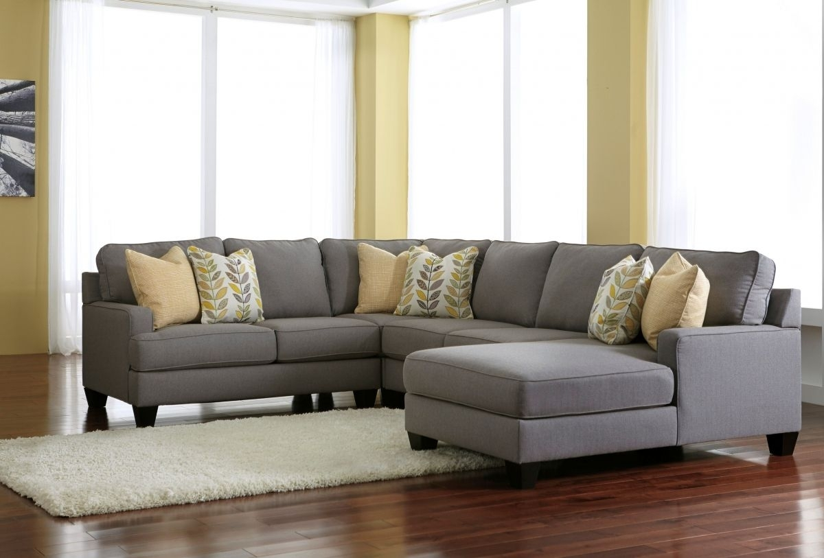 Ashley Furniture Chamberly Alloy Raf Chaise Sectional | Home for Gordon 3 Piece Sectionals With Raf Chaise (Image 4 of 30)