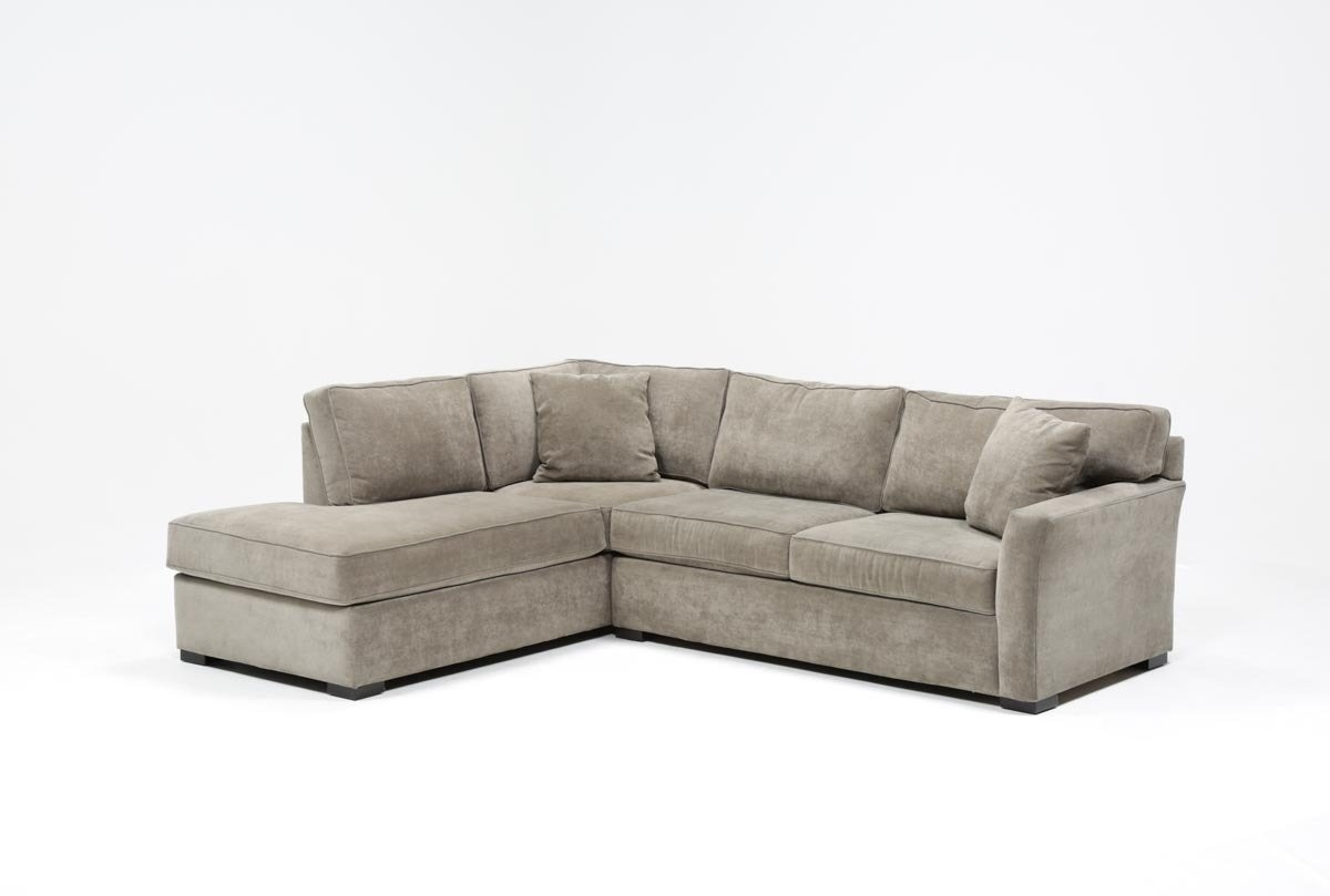 Aspen 2 Piece Sleeper Sectional W/laf Chaise | Living Spaces within Aspen 2 Piece Sectionals With Raf Chaise (Image 8 of 30)