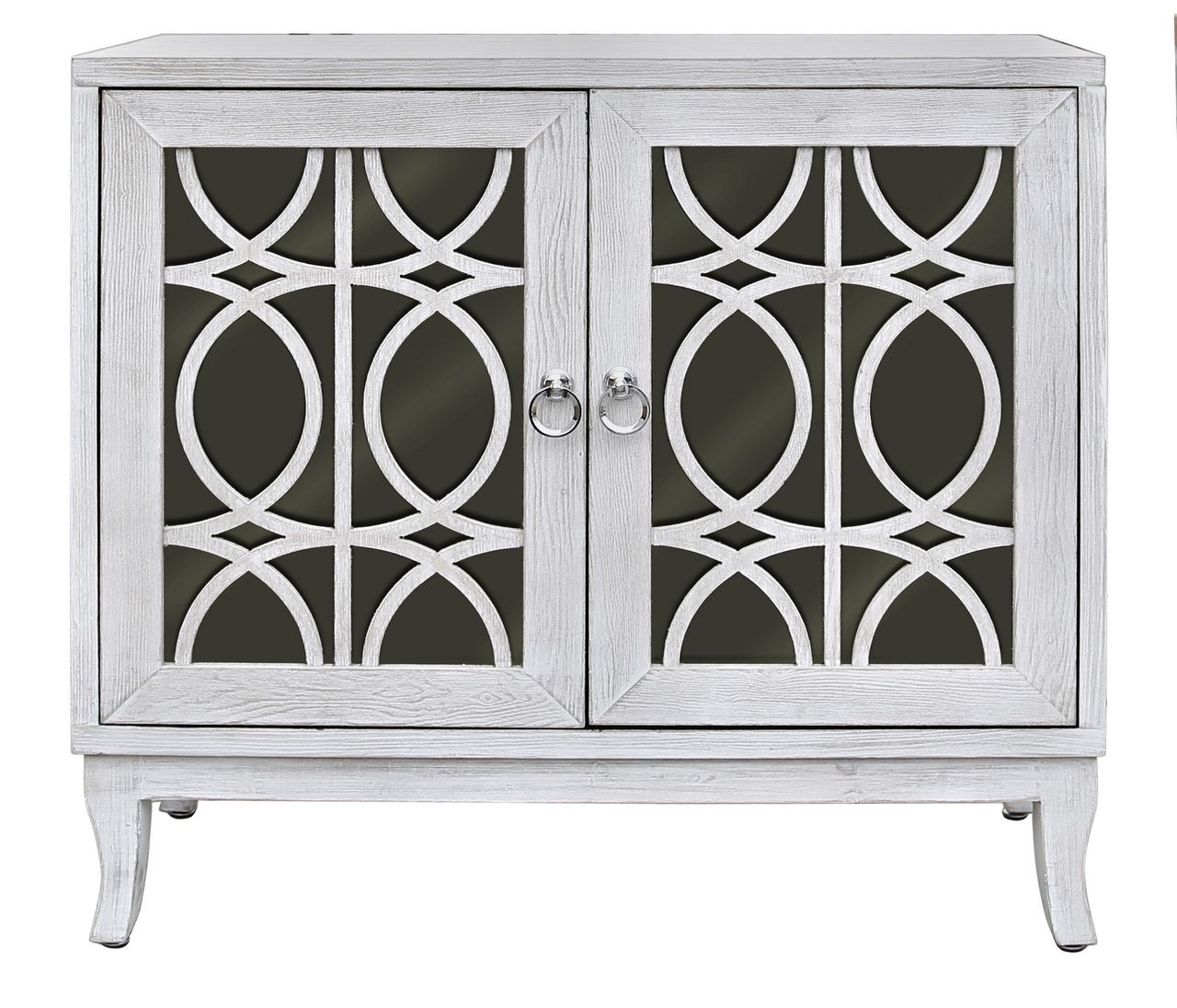 Aspen Washed Ash And Black 2 Door Sideboard | Bigliving throughout White Wash 2-Door Sideboards (Image 5 of 30)