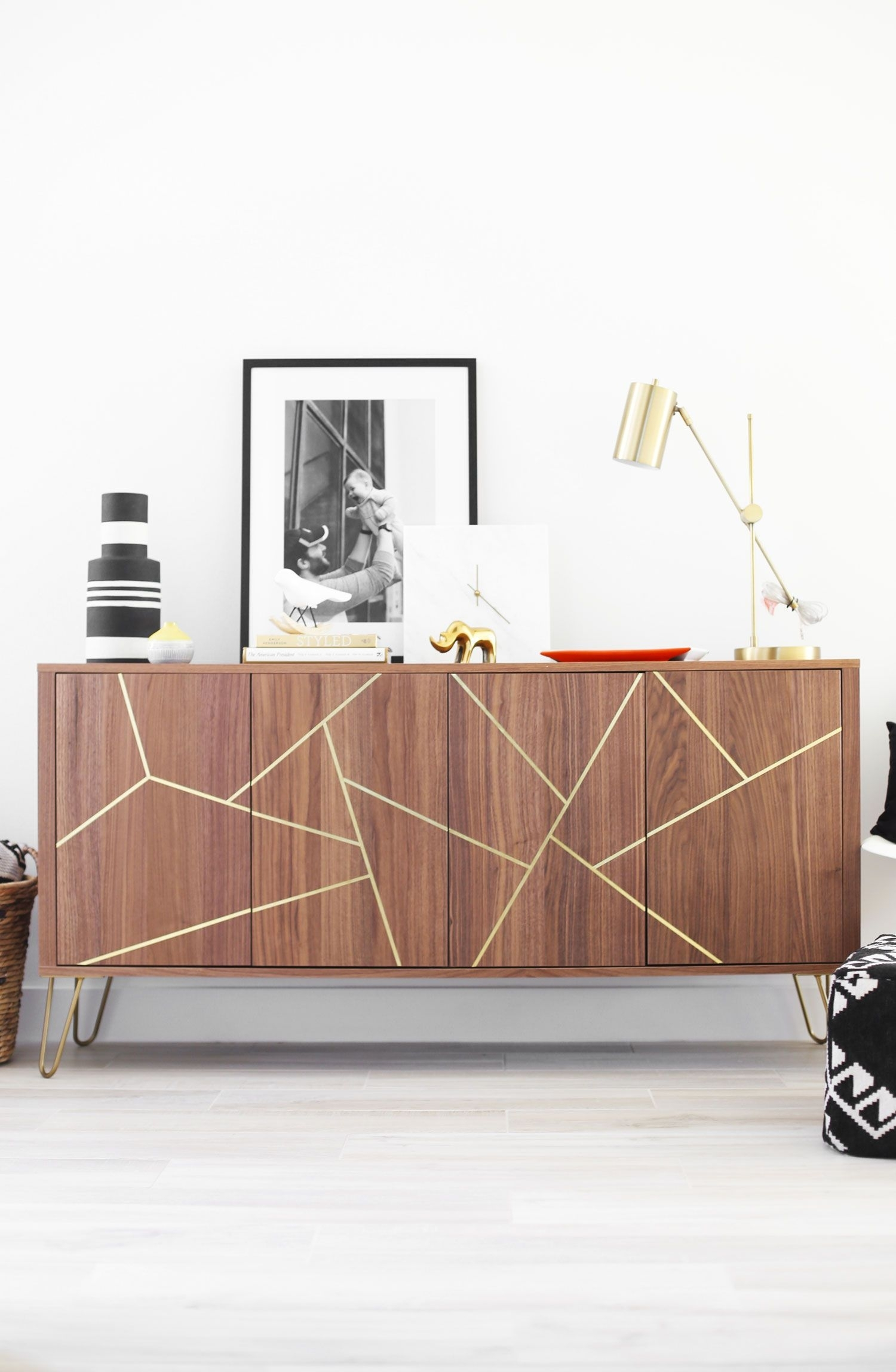 Aug 23 Mid Century Modern Ikea Hack Sideboard | Orc Living Room with Parrish Sideboards (Image 3 of 30)