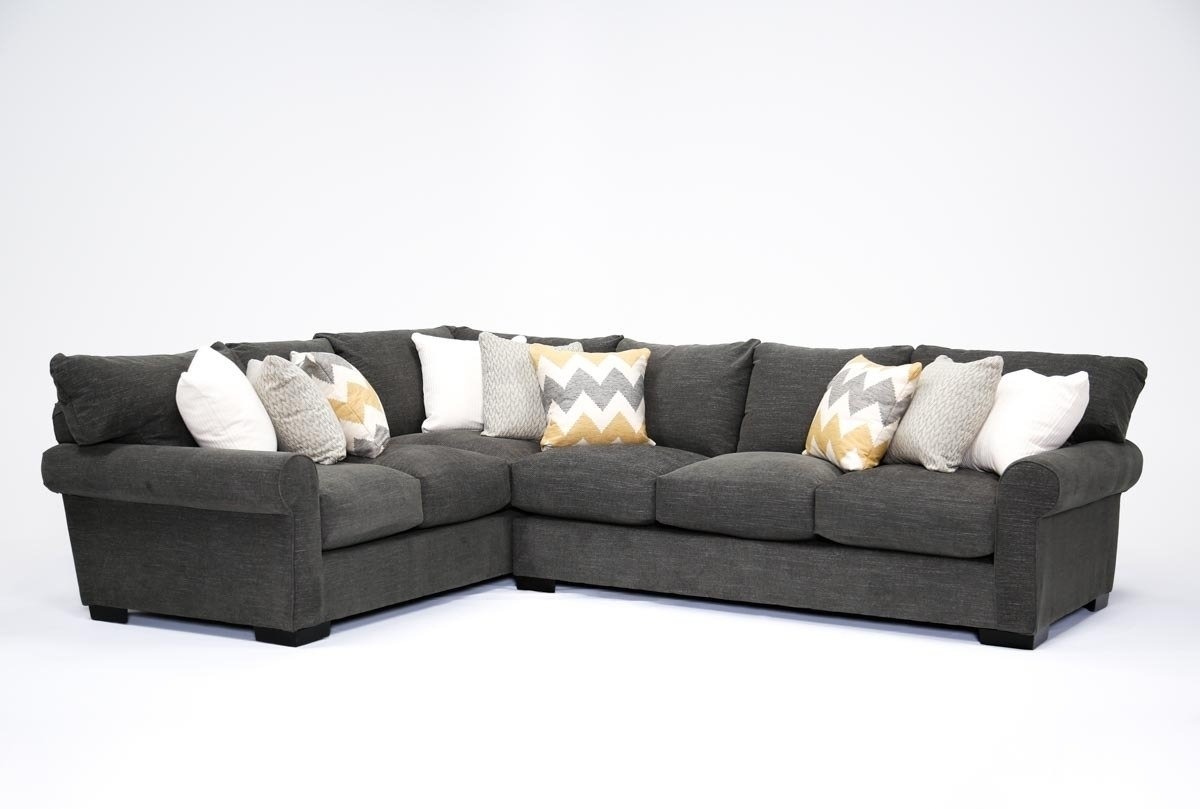 Aurora 2 Piece Sectional | Living Spaces in Aurora 2 Piece Sectionals (Image 5 of 30)