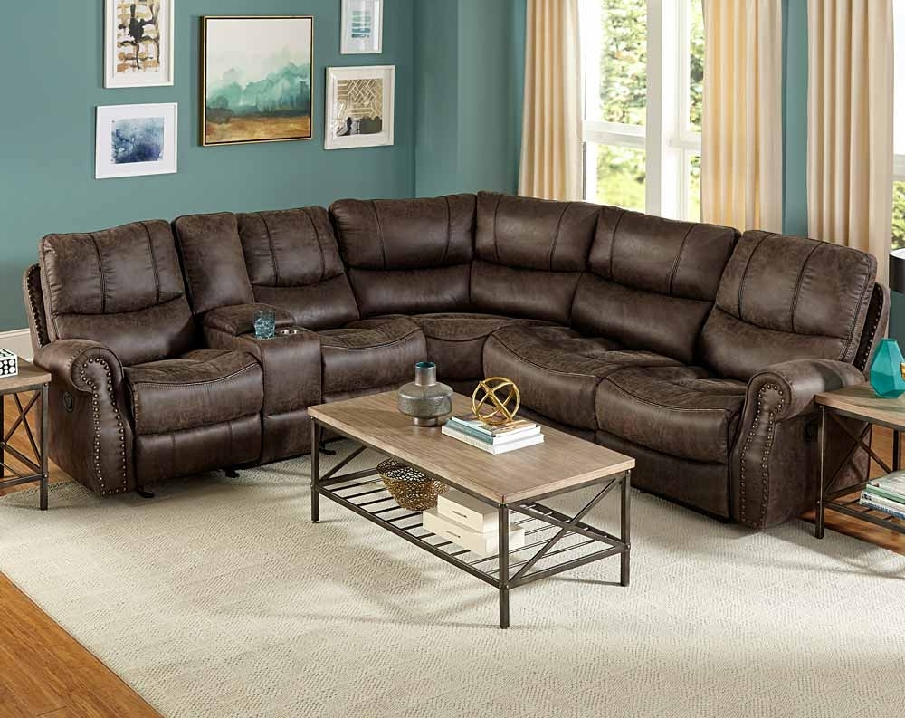Austin 3 Pc. Reclining Sectional Sofa | American Freight regarding Haven 3 Piece Sectionals (Image 5 of 32)