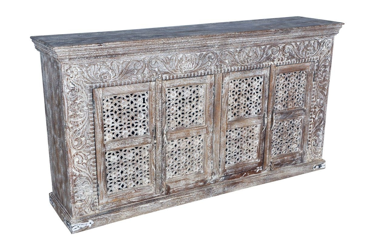 Aveliss Carved 4 Door Sideboard | Buffet/sideboard | Pinterest in Helms Sideboards (Image 7 of 30)