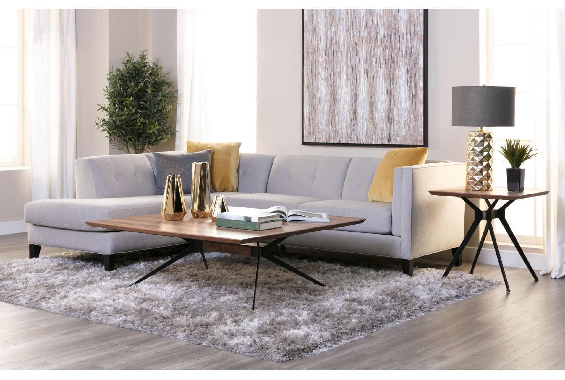 Avery 2 Piece Sectional W/laf Armless Chaise | Home Decor/interior for Avery 2 Piece Sectionals With Raf Armless Chaise (Image 5 of 30)
