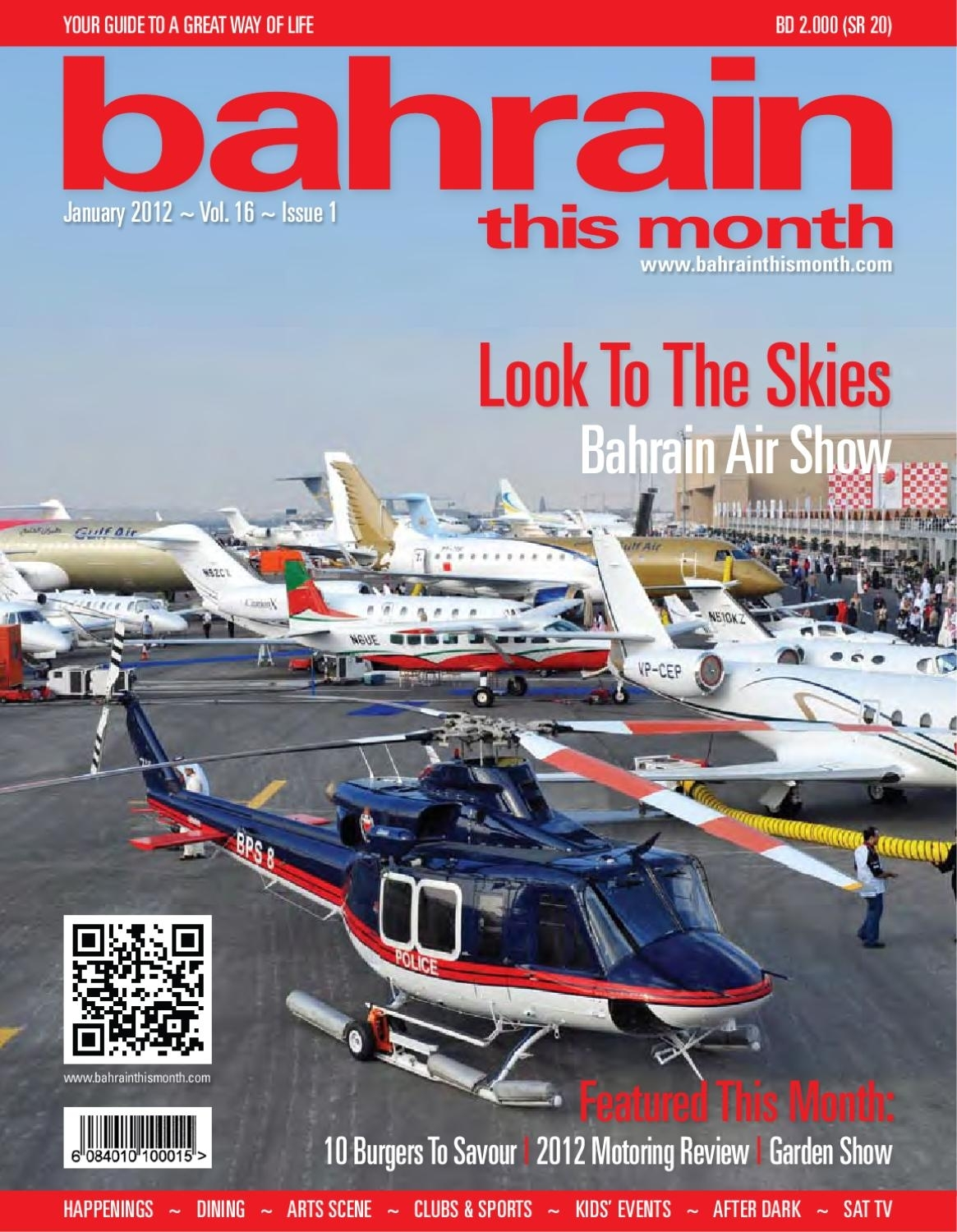 Bahrain This Month - January 2012Red House Marketing - Issuu in Yamal Wheeled Sideboards (Image 11 of 22)