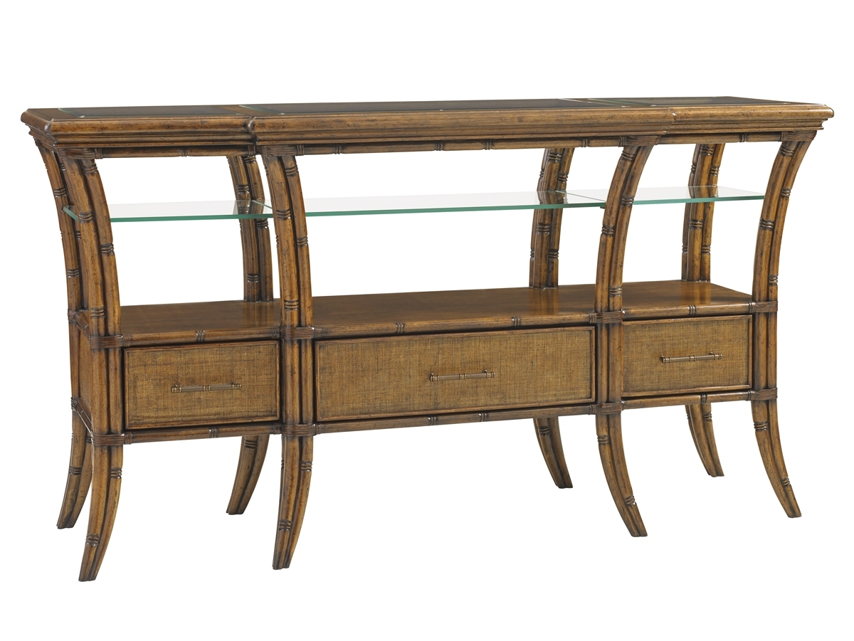 Bali Hai Oyster Reef Sideboard | Lexington Home Brands throughout Amos Buffet Sideboards (Image 7 of 30)