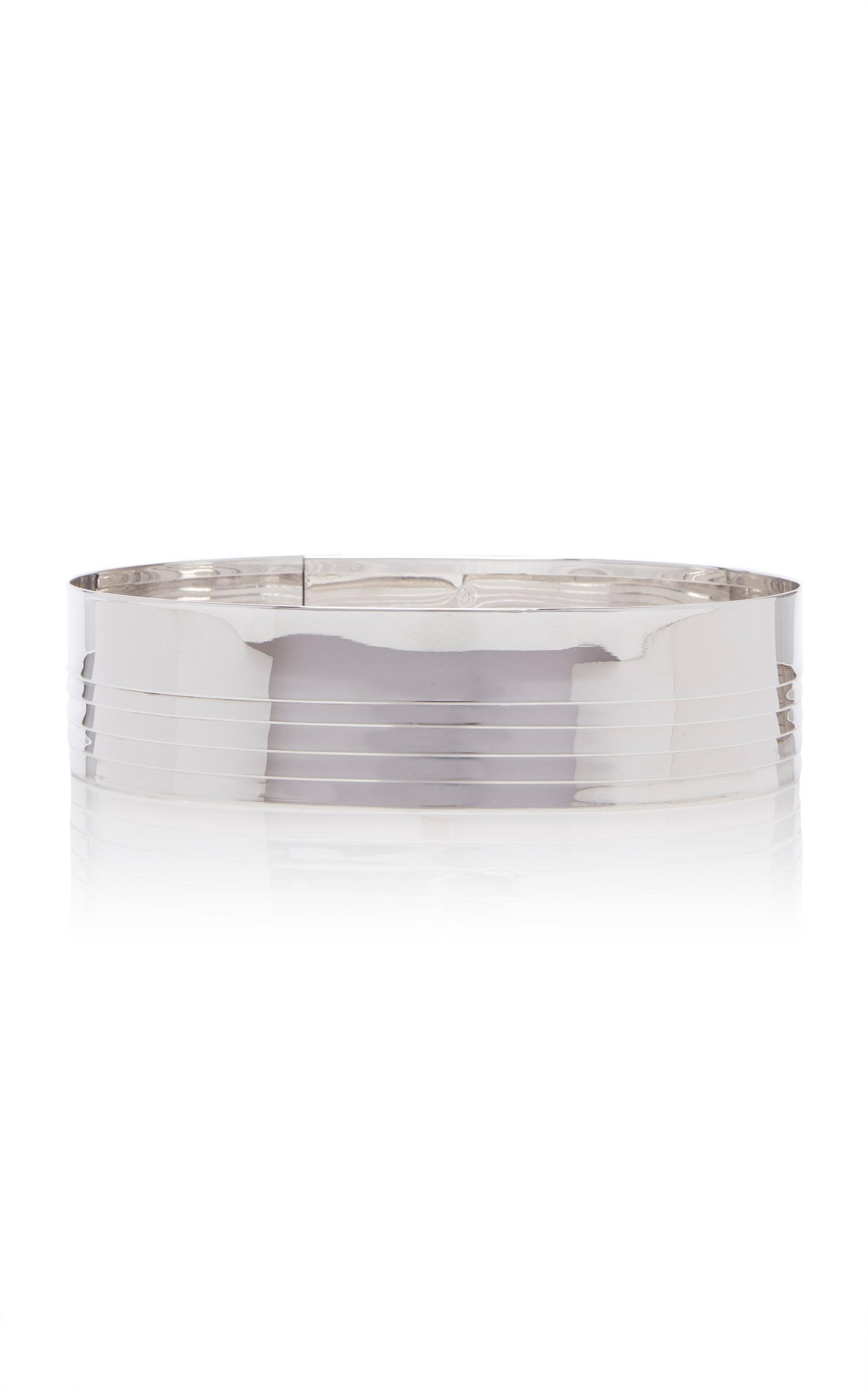 Balmain Brass Belt In Metallic - Lyst within Gunmetal Perforated Brass Sideboards (Image 6 of 30)