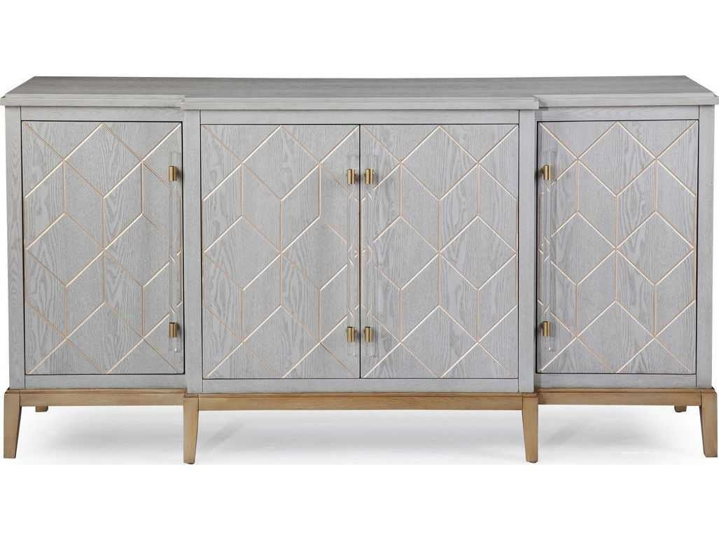 Bassett Mirror Thoroughly Modern Perrine 68'' X 19'' Server within Teagan Sideboards (Image 8 of 30)