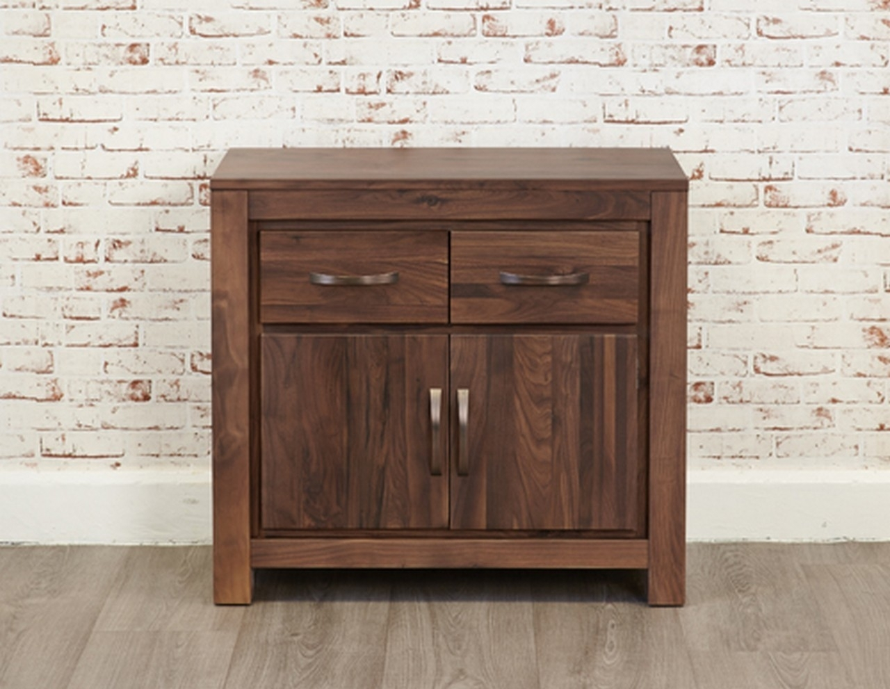 Baumhaus Mayan Walnut Small Sideboard From The Bed Station with regard to Walnut Small Sideboards (Image 3 of 30)