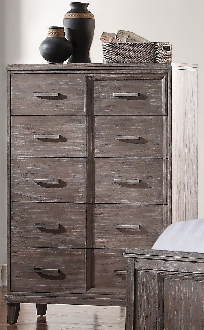 Bayonne Burnt Oak Chest From Acme | Coleman Furniture with Burnt Oak Wood Sideboards (Image 5 of 30)