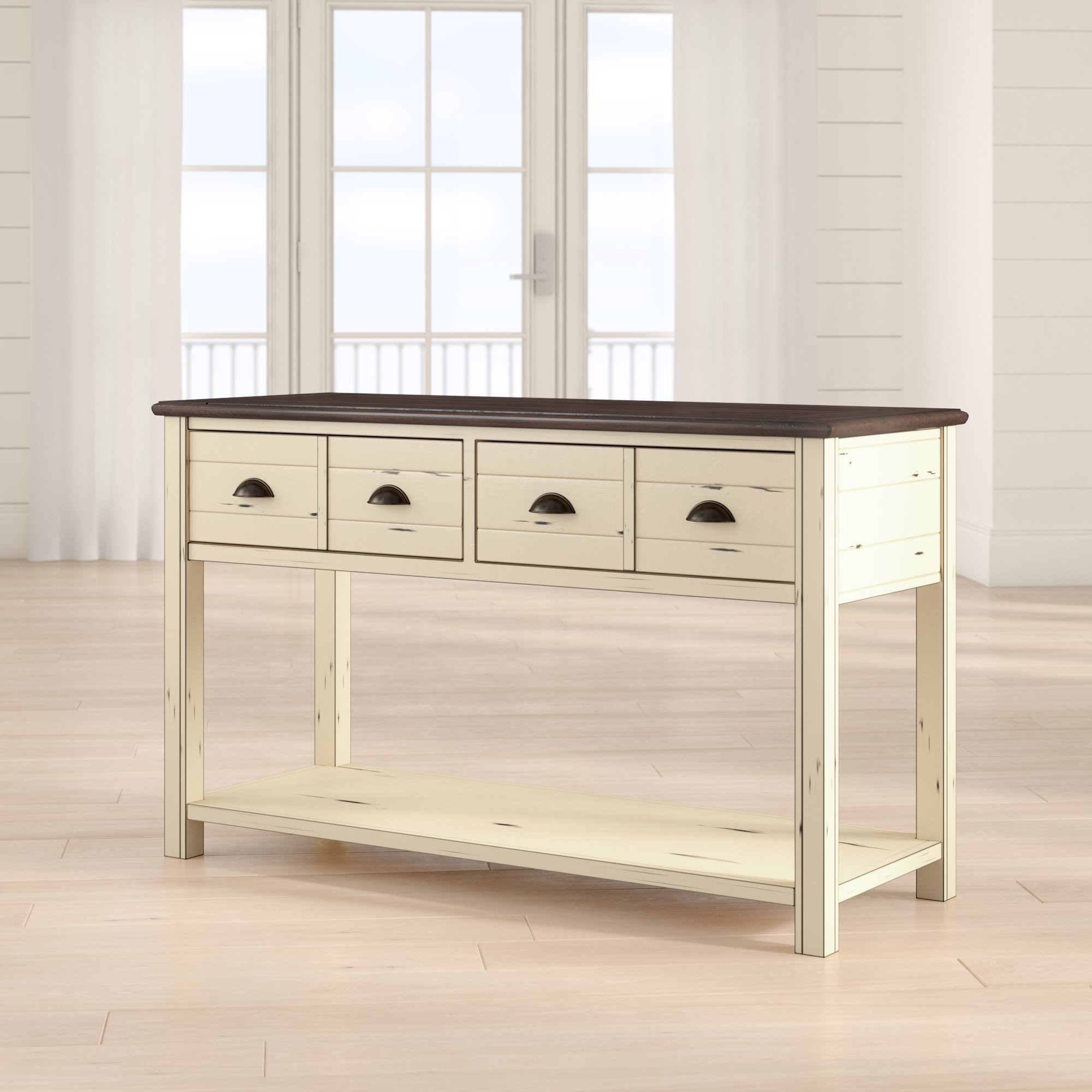 Beachcrest Home Chesapeake Console Table & Reviews | Wayfair within Parrish Sideboards (Image 4 of 30)