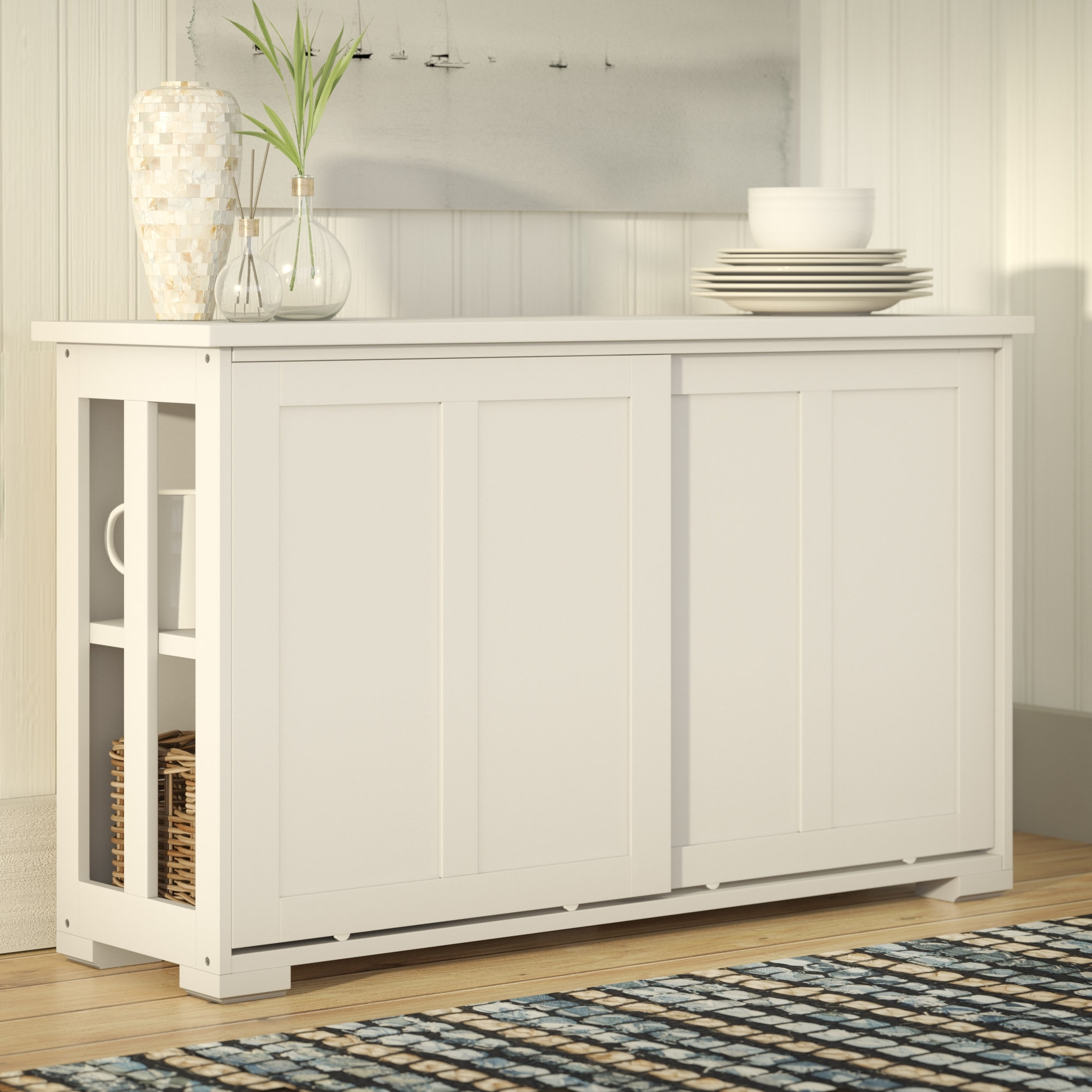 Beachcrest Home South Miami Sideboard & Reviews | Wayfair with regard to Norwood Sideboards (Image 5 of 30)