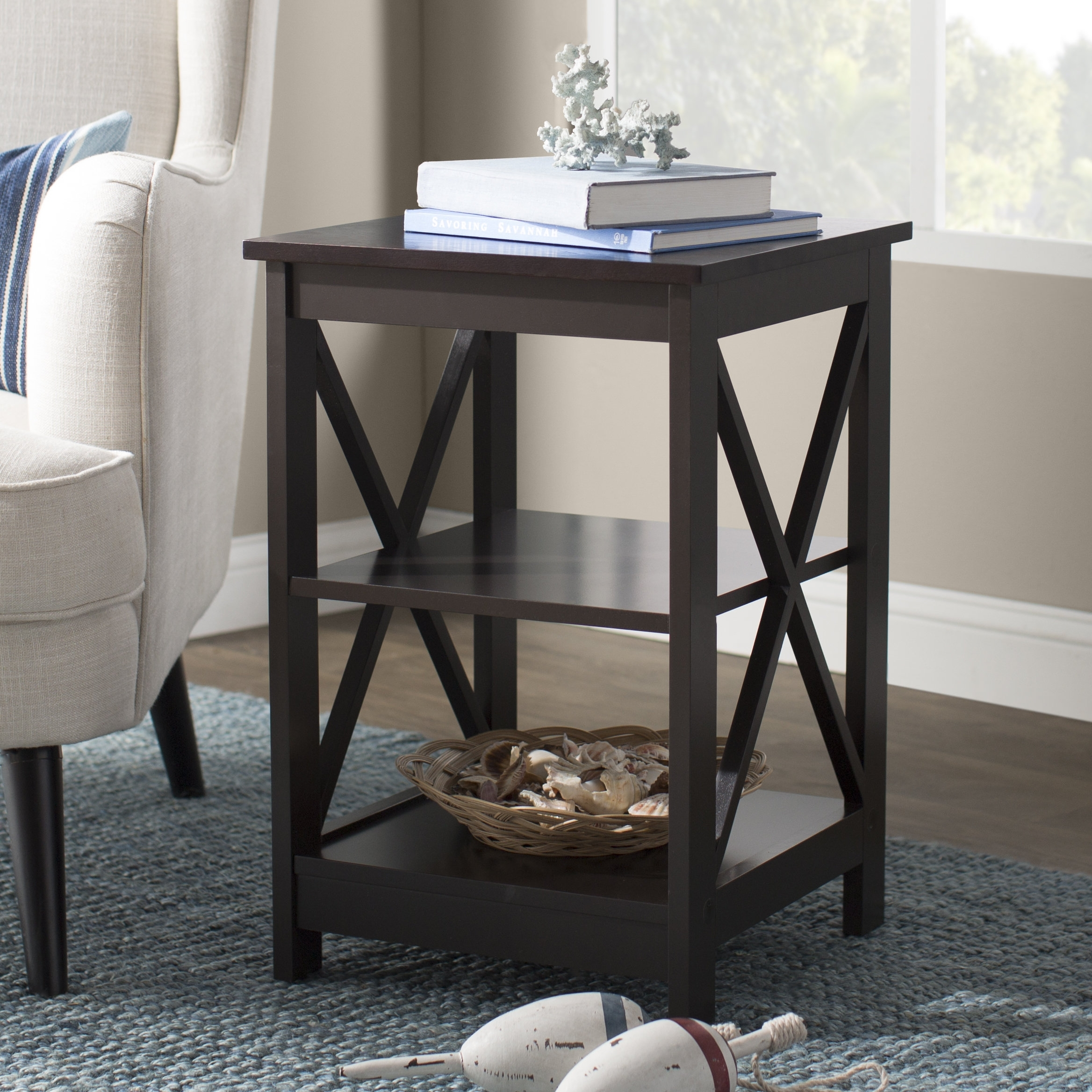 Beachcrest Home Stoneford End Table & Reviews | Wayfair In Marius Dark Grey 3 Piece Sectionals (Photo 19 of 30)