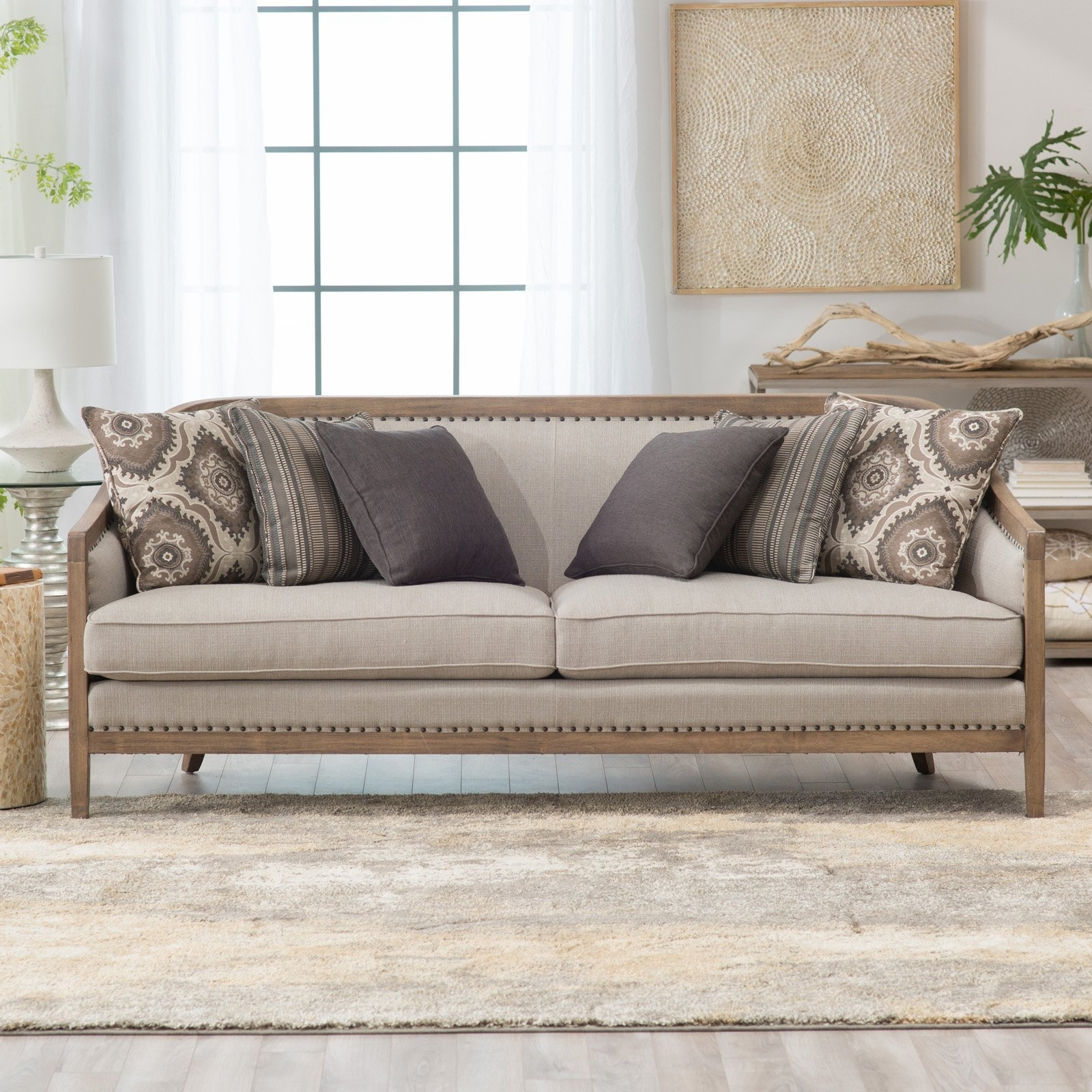 Belham Living Harper Sofa | Hayneedle throughout Harper Down 3 Piece Sectionals (Image 4 of 30)