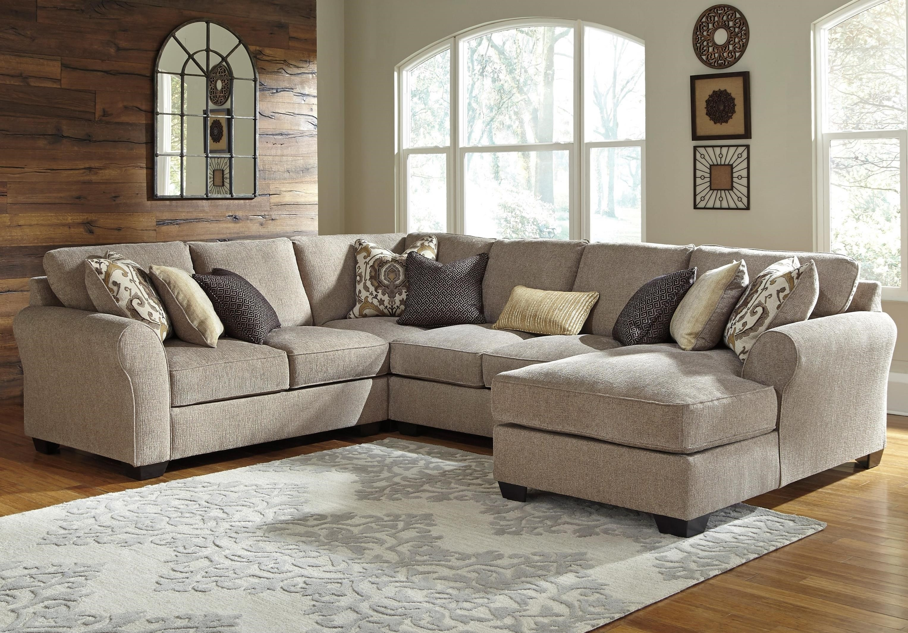 Benchcraft Sectional Sofa - Interior Design 3D • within Aspen 2 Piece Sleeper Sectionals With Laf Chaise (Image 10 of 30)