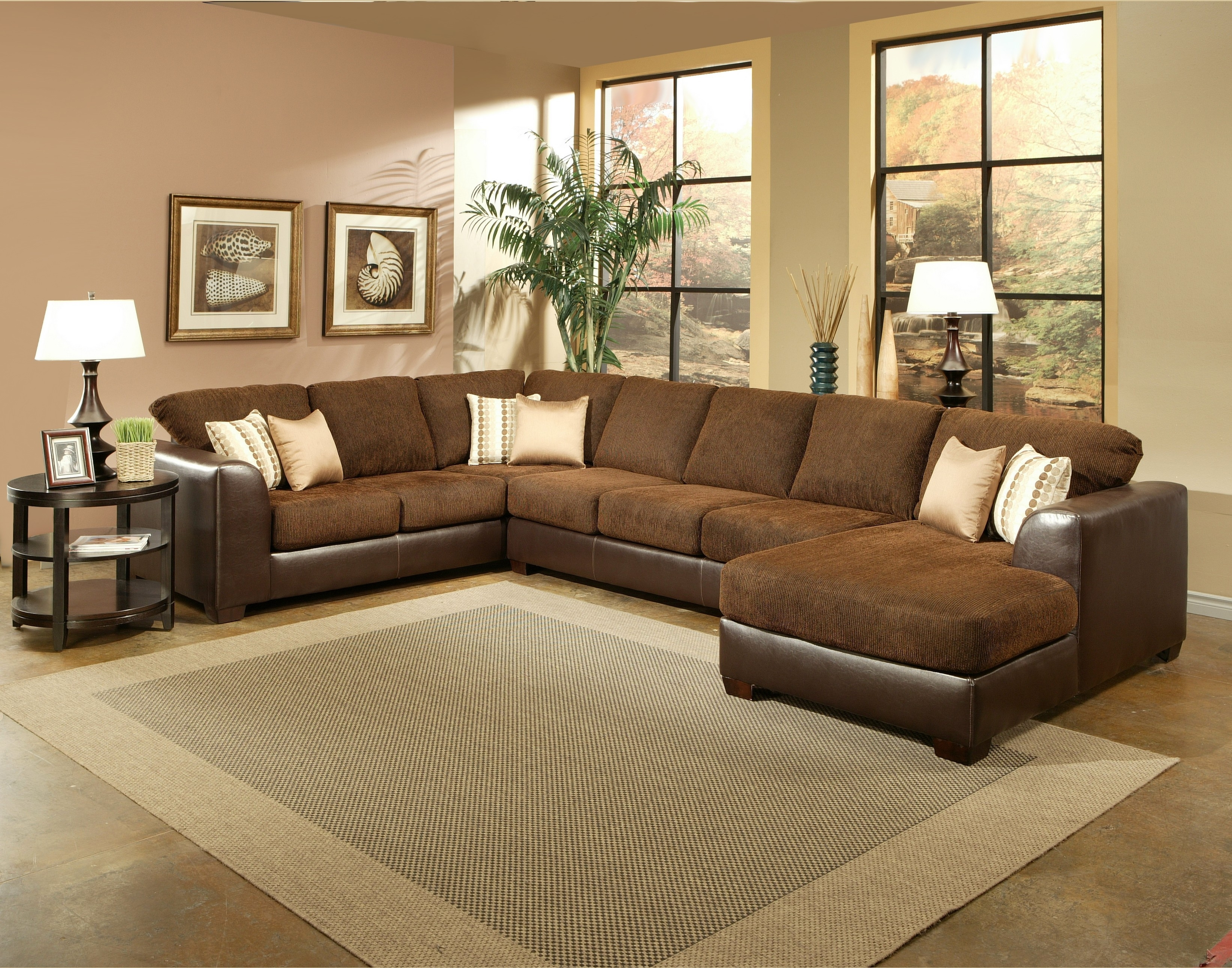 Benchley 3 Pc York Sectional For Sierra Down 3 Piece Sectionals With Laf Chaise (View 5 of 30)