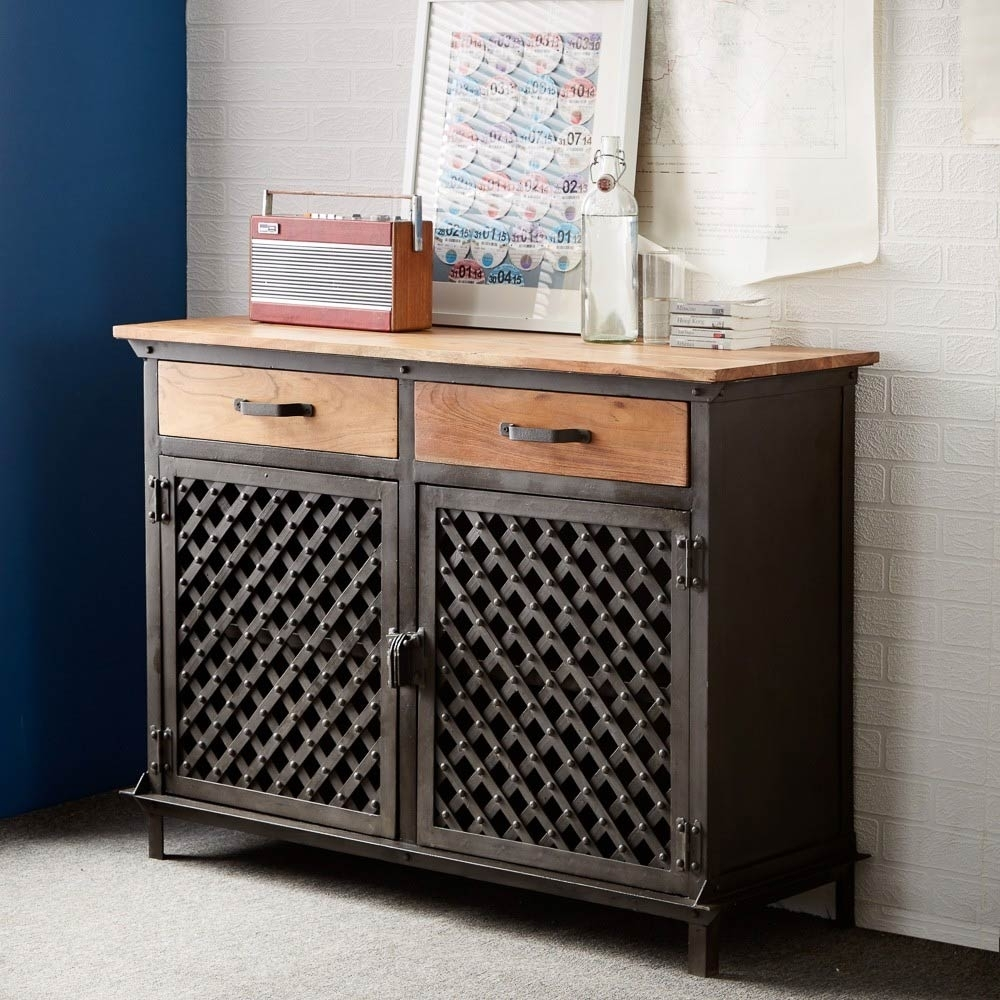 Best Industrial Sideboard Ideas — Rocket Uncle Rocket Uncle inside Iron Sideboards (Image 4 of 30)