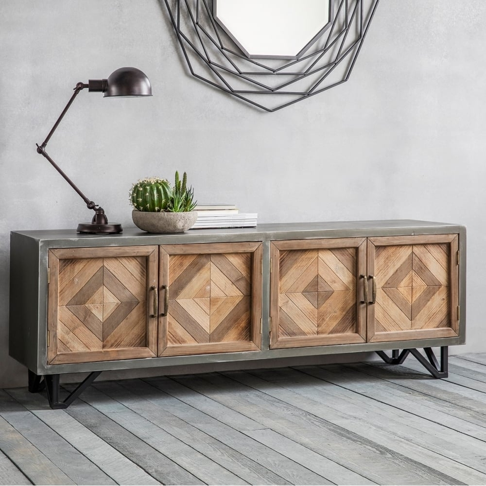 Best Industrial Sideboard Ideas — Rocket Uncle Rocket Uncle with Iron Sideboards (Image 6 of 30)
