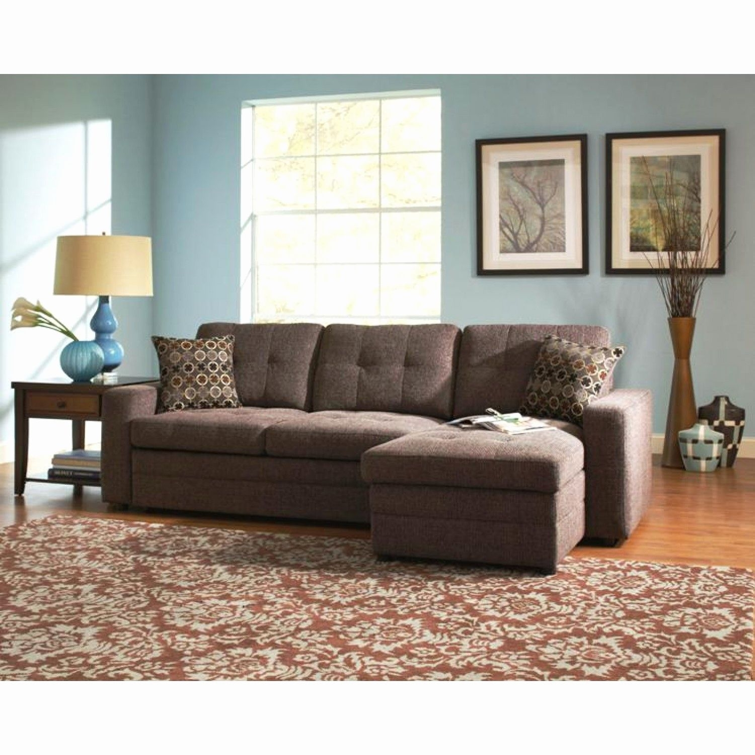 30 Best Collection of Norfolk Chocolate 6 Piece Sectionals ...