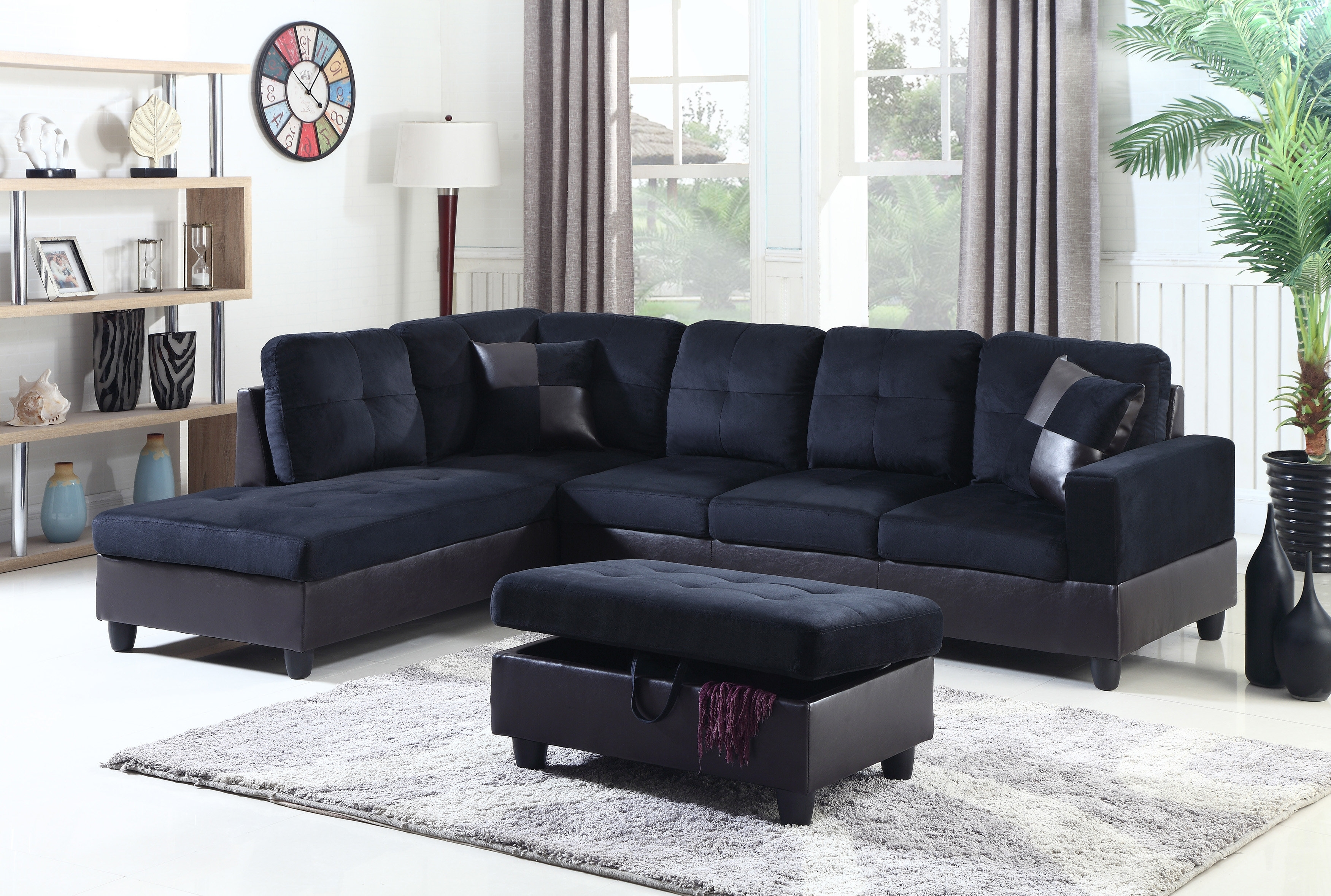 Beverly Fine Furniture Aiden Sectional | Wayfair throughout Aidan 4 Piece Sectionals (Image 10 of 30)