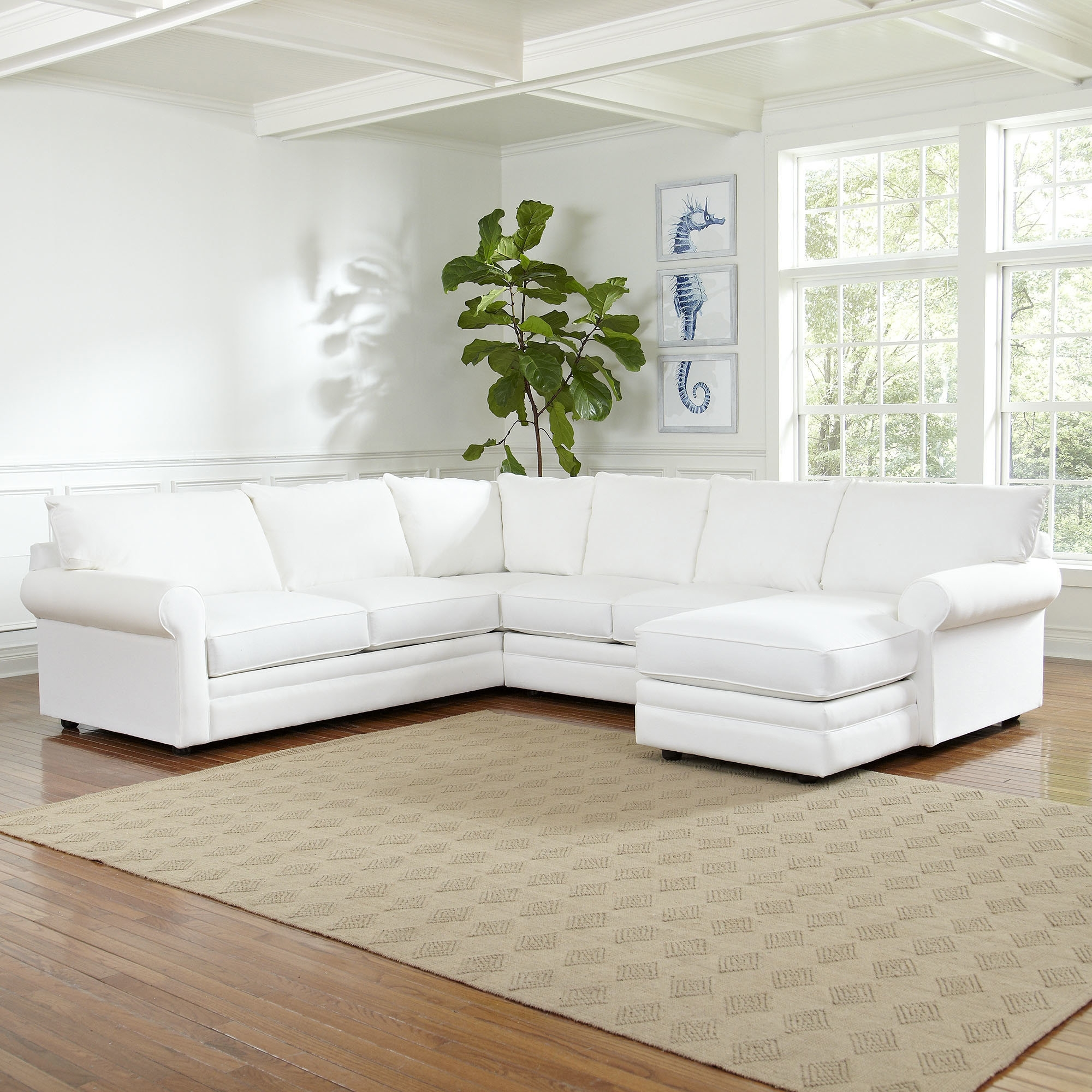 Birch Lane™ Newton Sectional & Reviews | Birch Lane intended for Norfolk Grey 6 Piece Sectionals (Image 5 of 30)
