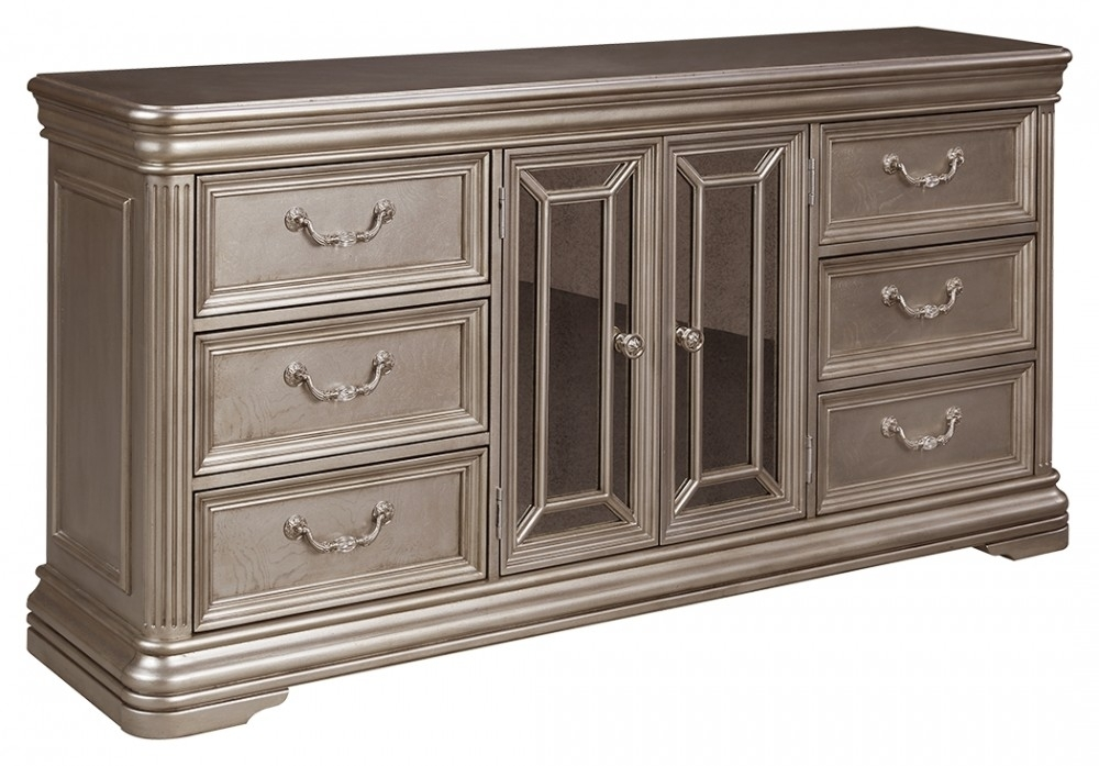 Birlanny Dresser | B720-31 | Dressers | Mirab Homestore And in Hartigan 2-Door Sideboards (Image 9 of 30)