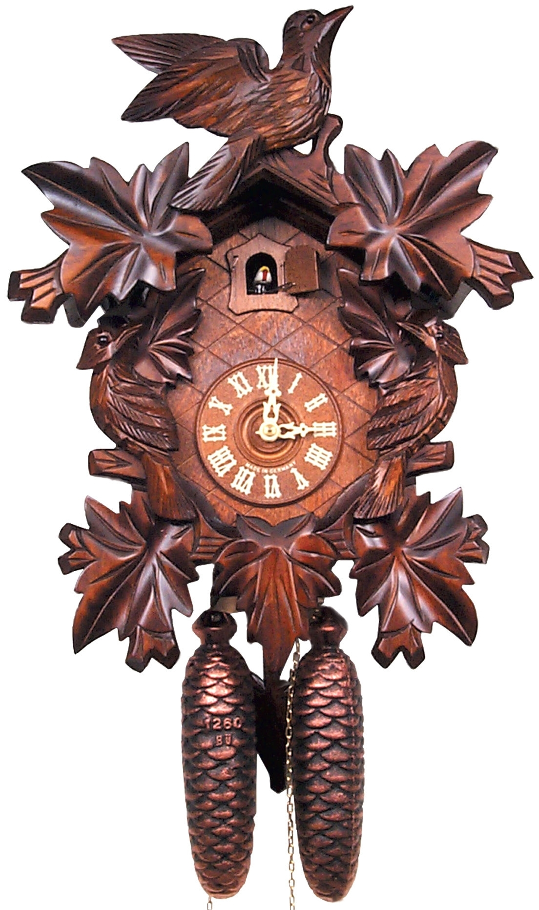 Black Forest Cuckoo Clock | Wayfair.ca with regard to Taron 3 Piece Power Reclining Sectionals With Right Facing Console Loveseat (Image 5 of 30)