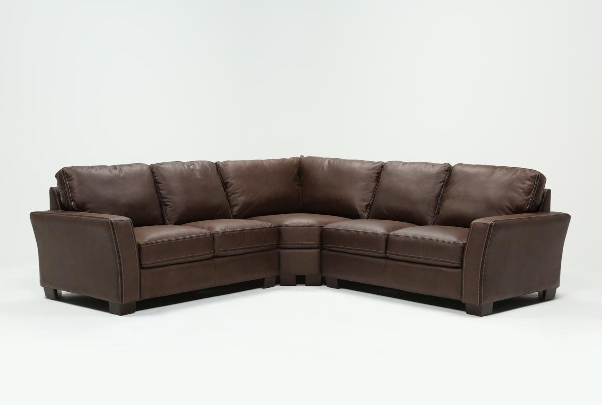 Blaine 3 Piece Sectional | Living Spaces pertaining to Blaine 4 Piece Sectionals (Image 5 of 30)