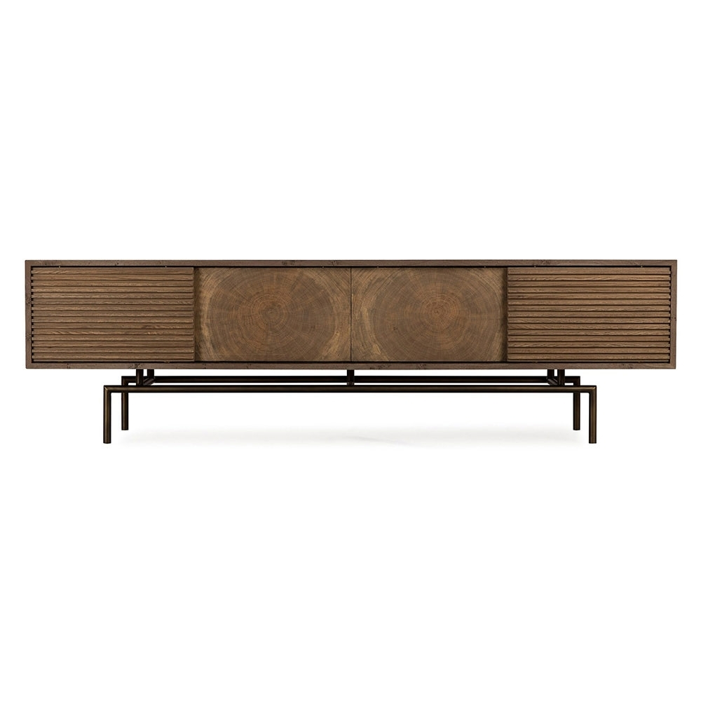 Blaine Media Console Table – Rouse Home pertaining to Blaine 4 Piece Sectionals (Image 7 of 30)