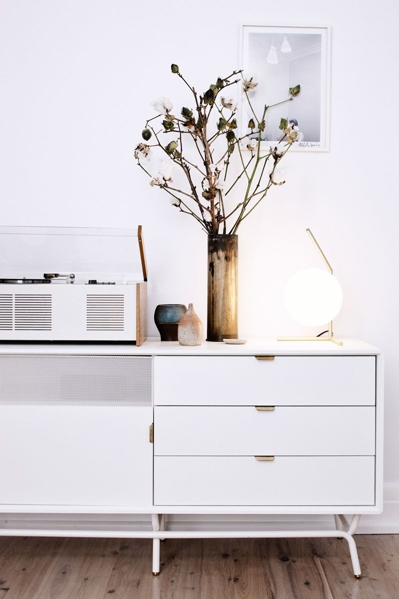 Blu Dot Dang Media Stand - Home Of Sarah Cousens, Sydney for Gunmetal Perforated Brass Sideboards (Image 7 of 30)