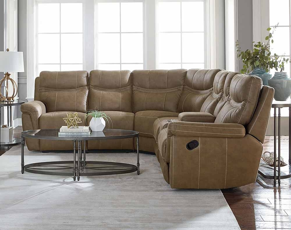 Boardwalk 3 Pc. Reclining Sectional Sofa | American Freight in Haven 3 Piece Sectionals (Image 6 of 32)