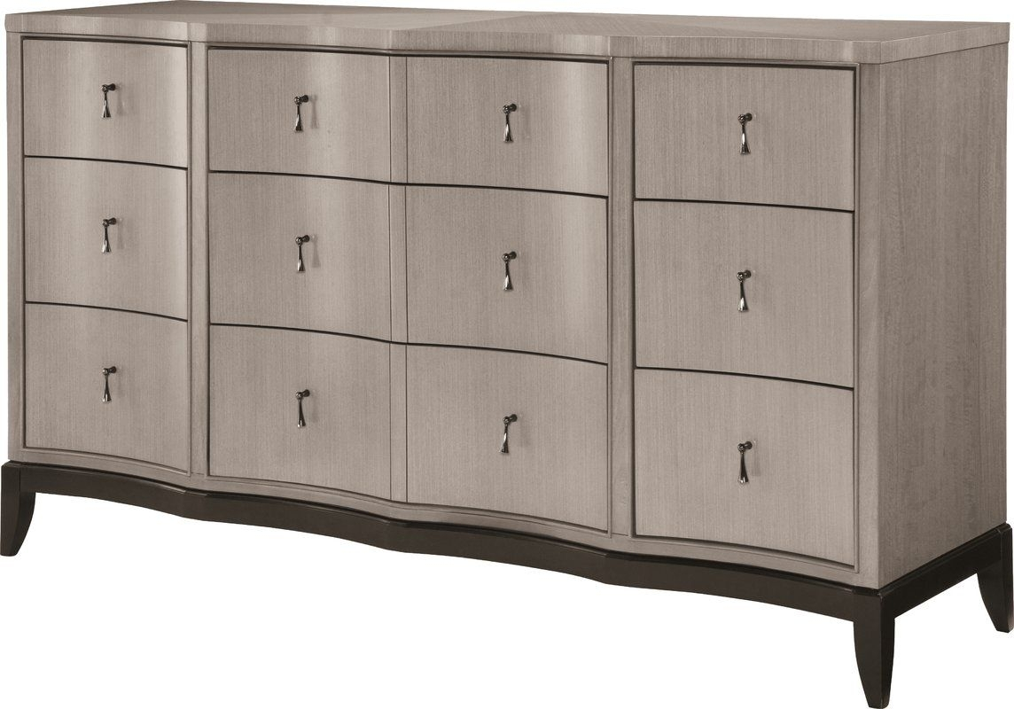 Bonifácio 9 Drawer Standard Dresser | Hamilton | Pinterest | Dresser pertaining to Norwood Sideboards (Image 6 of 30)